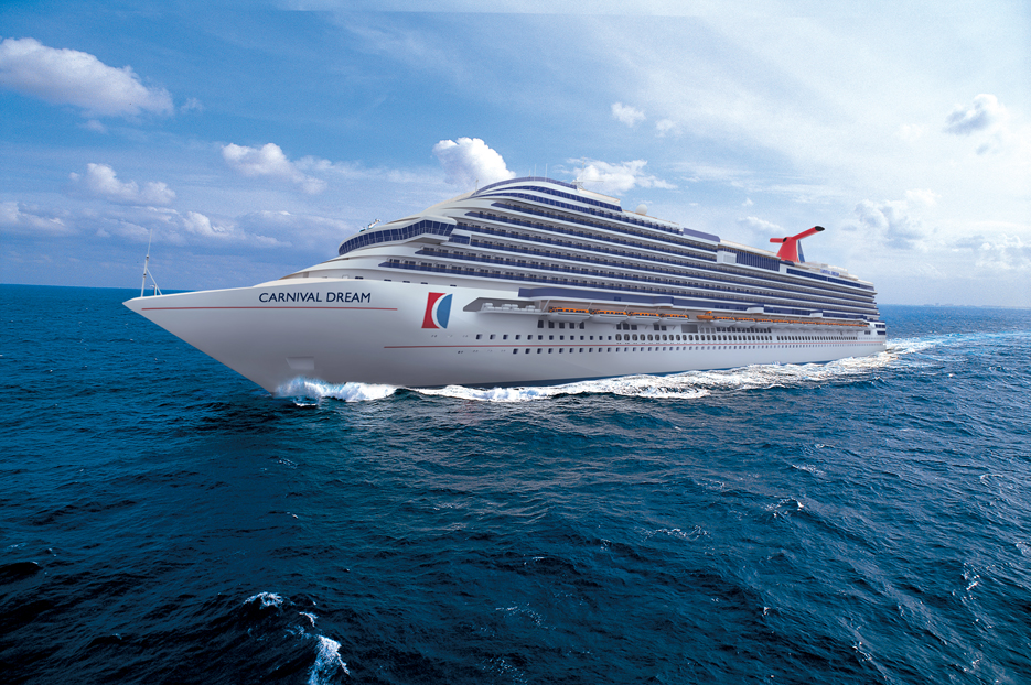 carnival cruise lines newest ship