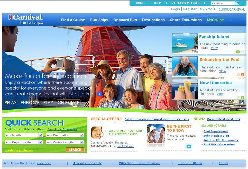 Heavy Traffic Carnival Cruise Line News