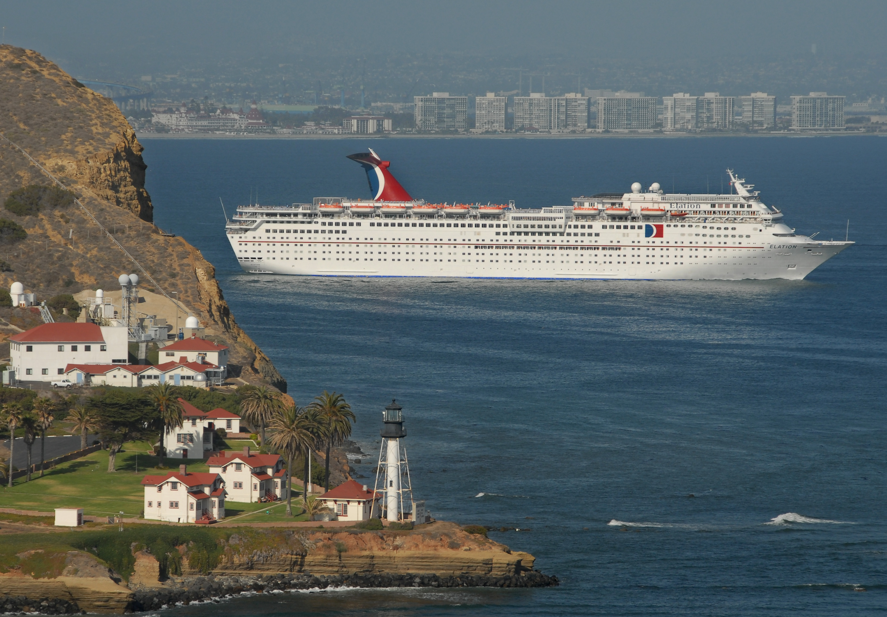 Carnival Cruise Lines Will Deploy The 2 052 Penger Elation On A New Three And Four Day Schedule From San Go Beginning Feb 12 2009