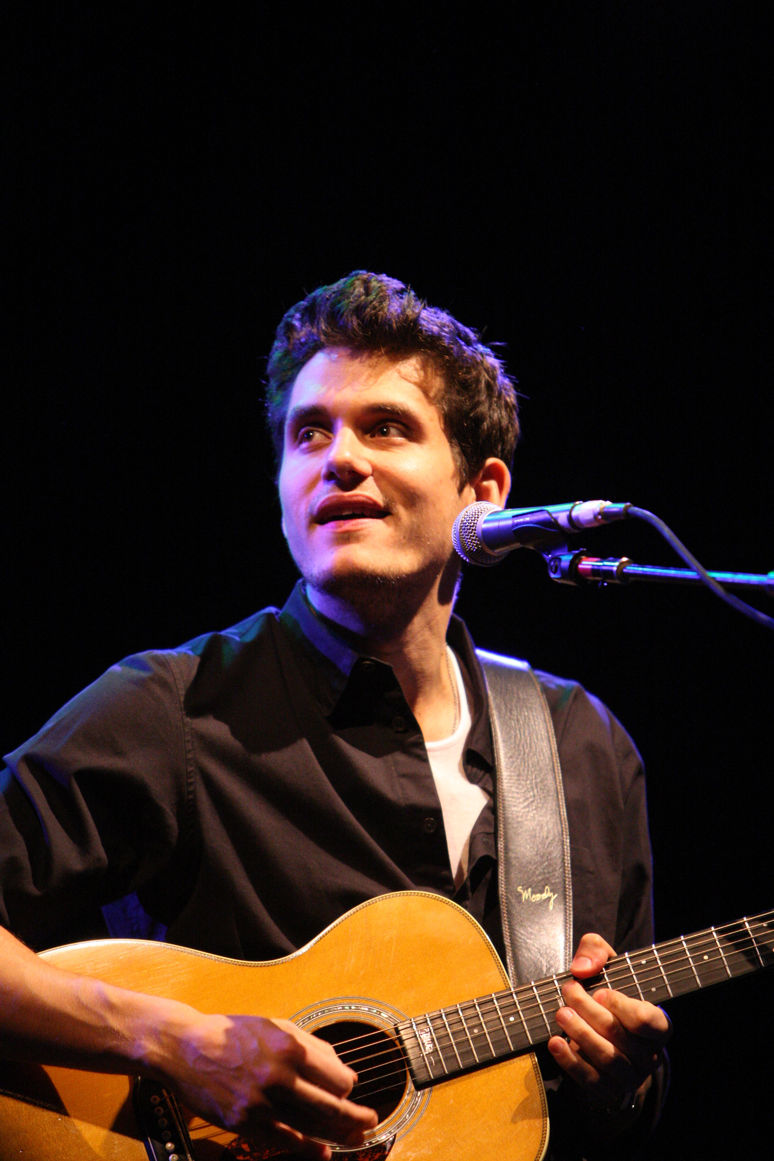 "Musician John Mayer performs at ""One Splendid Evening"" sponsored by Carnival Cruise Lines and benefiting VH1 Save The Music Foundation held on the Carnival Splendor at Port Of Los Angeles on March 26, 2009 in San Pedro, California."