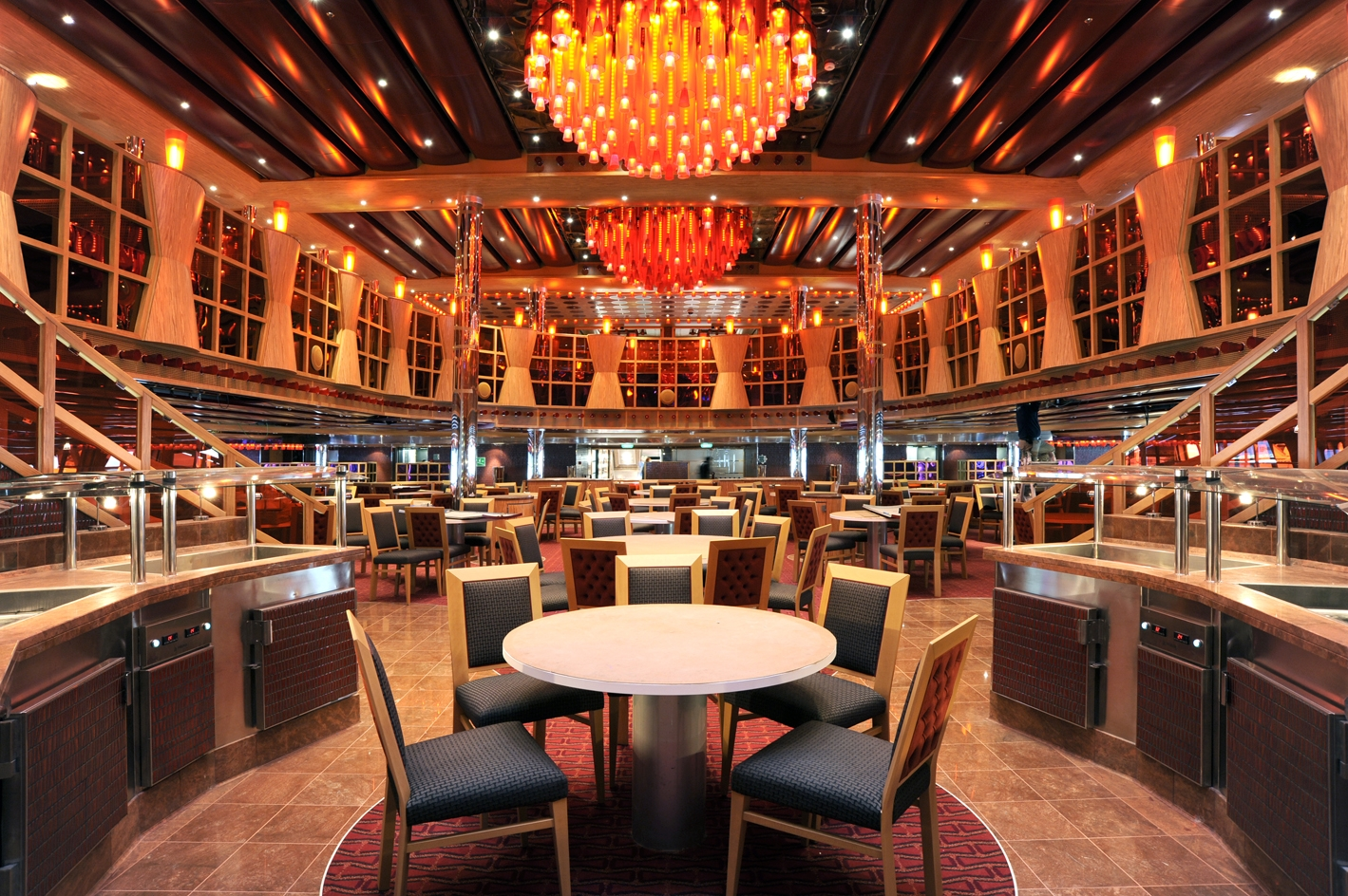 Big Dining Room Table Carnival Cruise Line News