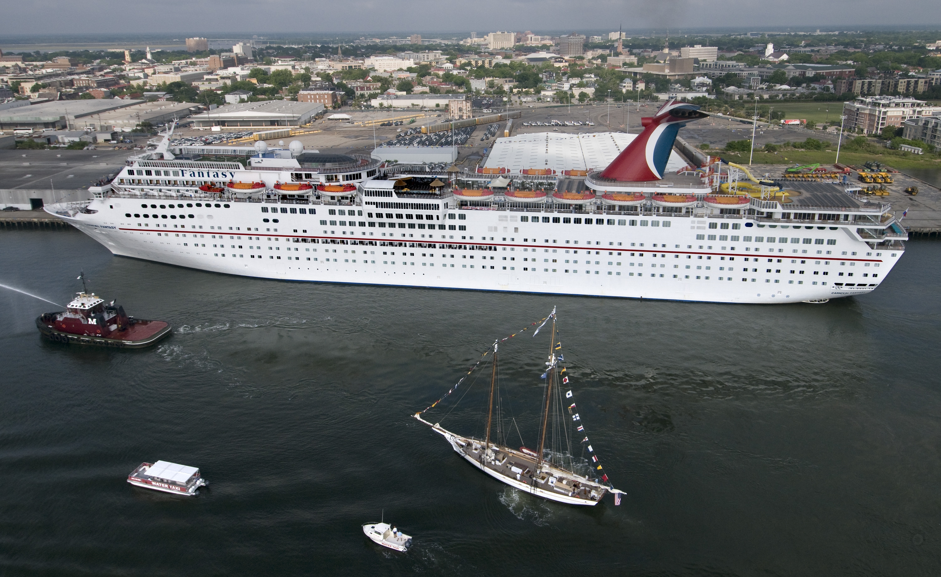 Carnival Cruise Line News - Cruise out of charleston sc