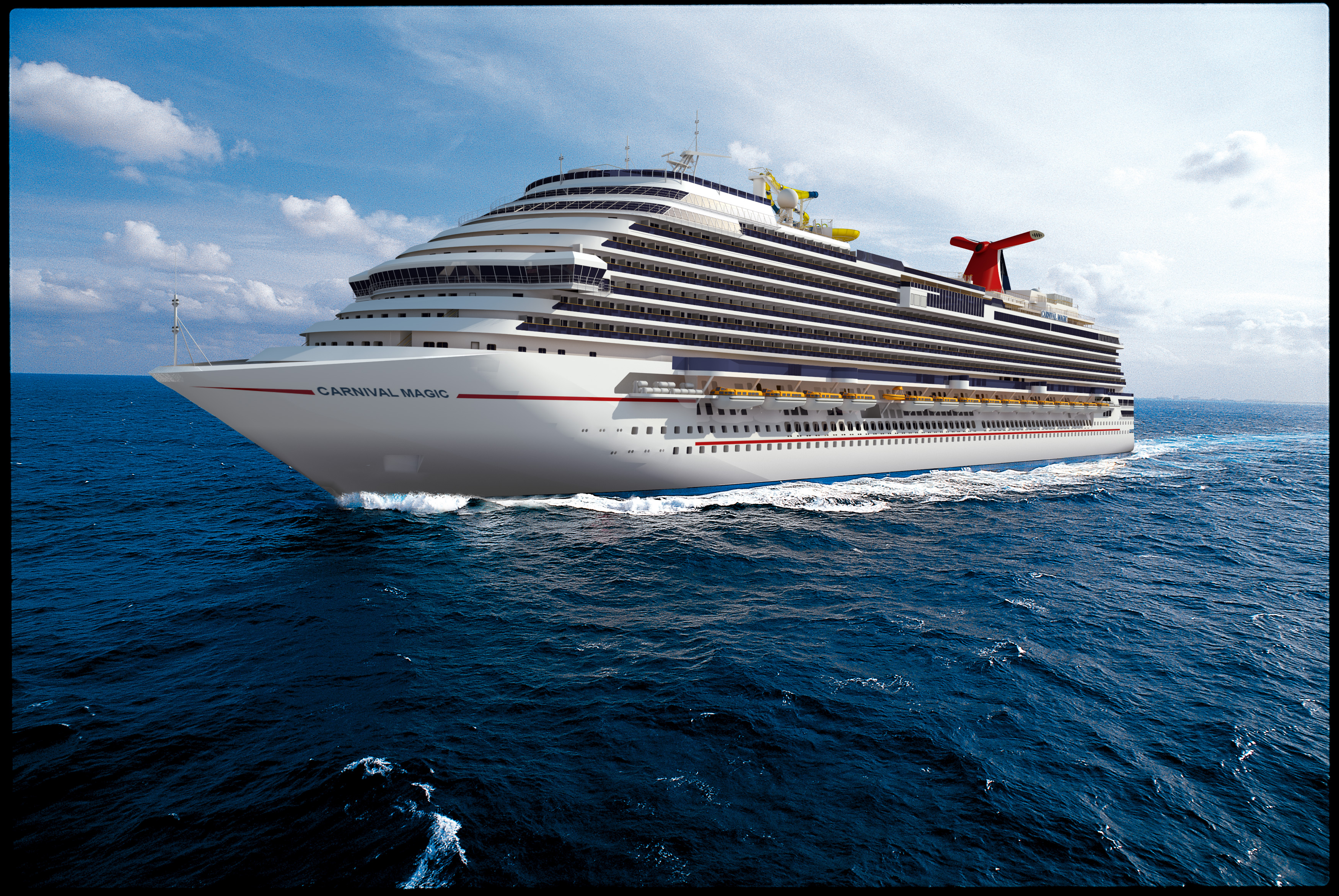 Cruises From Galveston >> Carnival Magic To Operate Seven Day Cruises From Galveston To Be