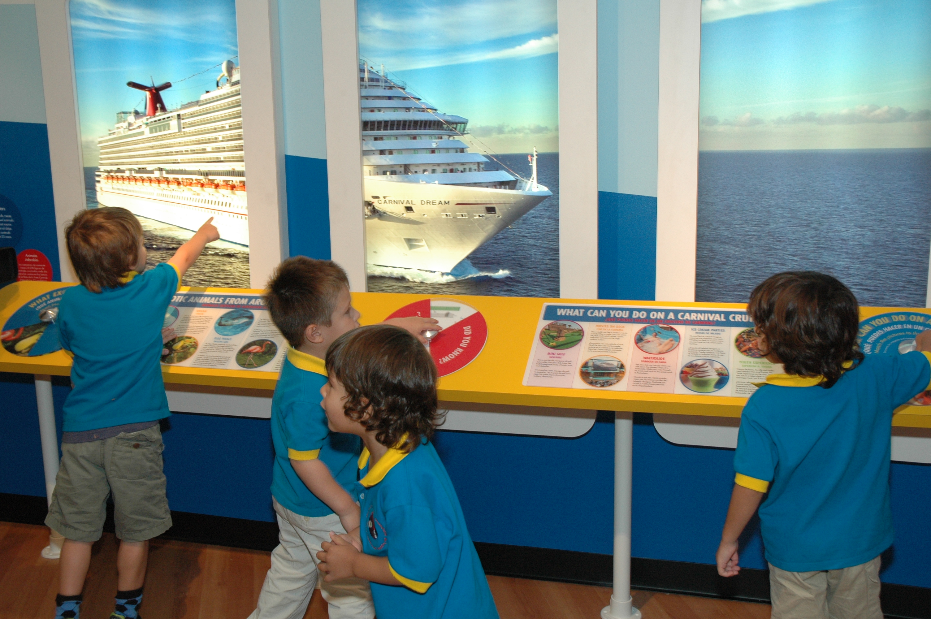 Carnival S Cruise Ship Themed Exhibit Sets Sail At Miami Children S Museum With Host Of New