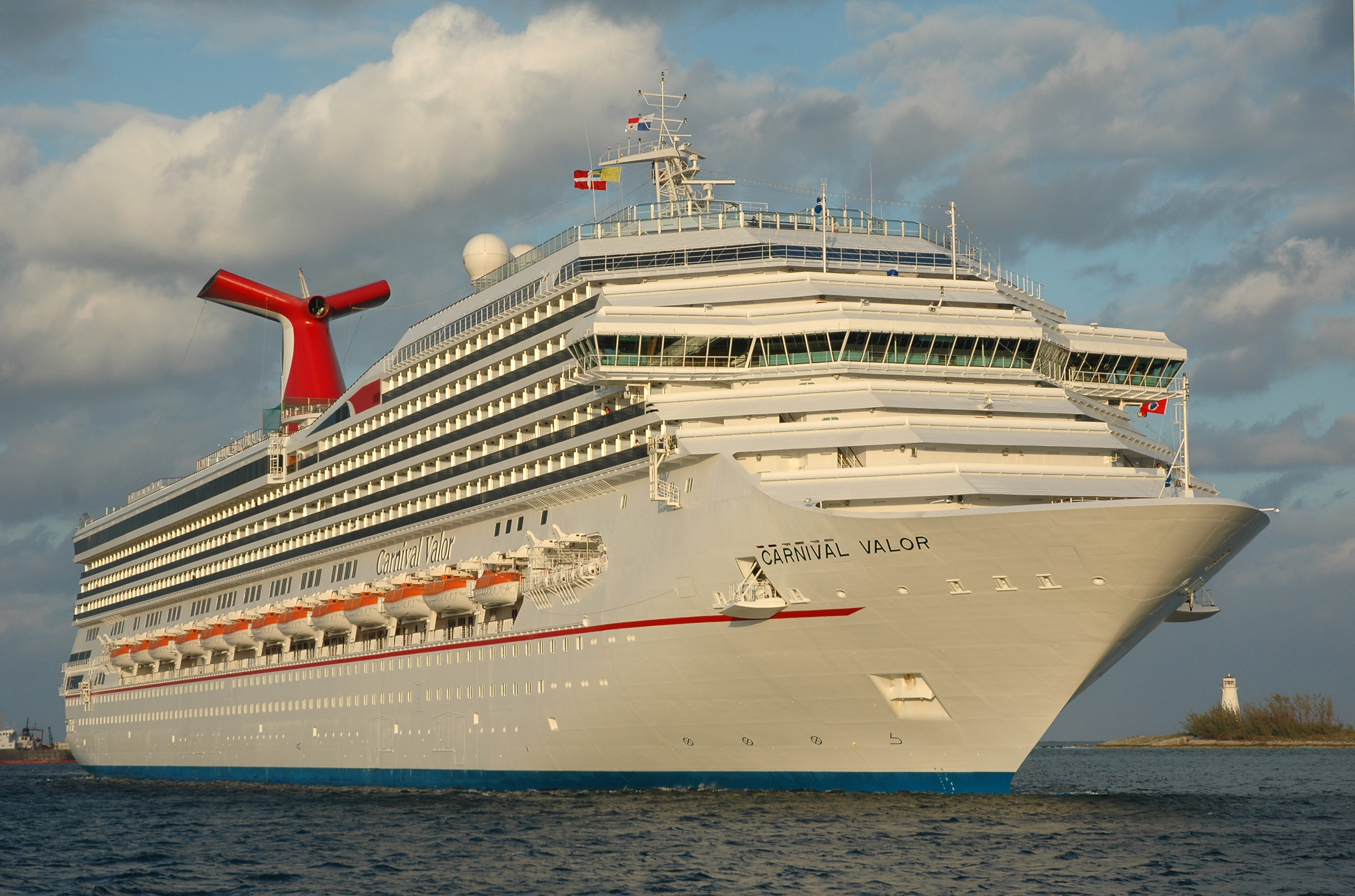 Carnival Valor Returns To Service With New Enhancements Following 14 Day Dry Dock Carnival