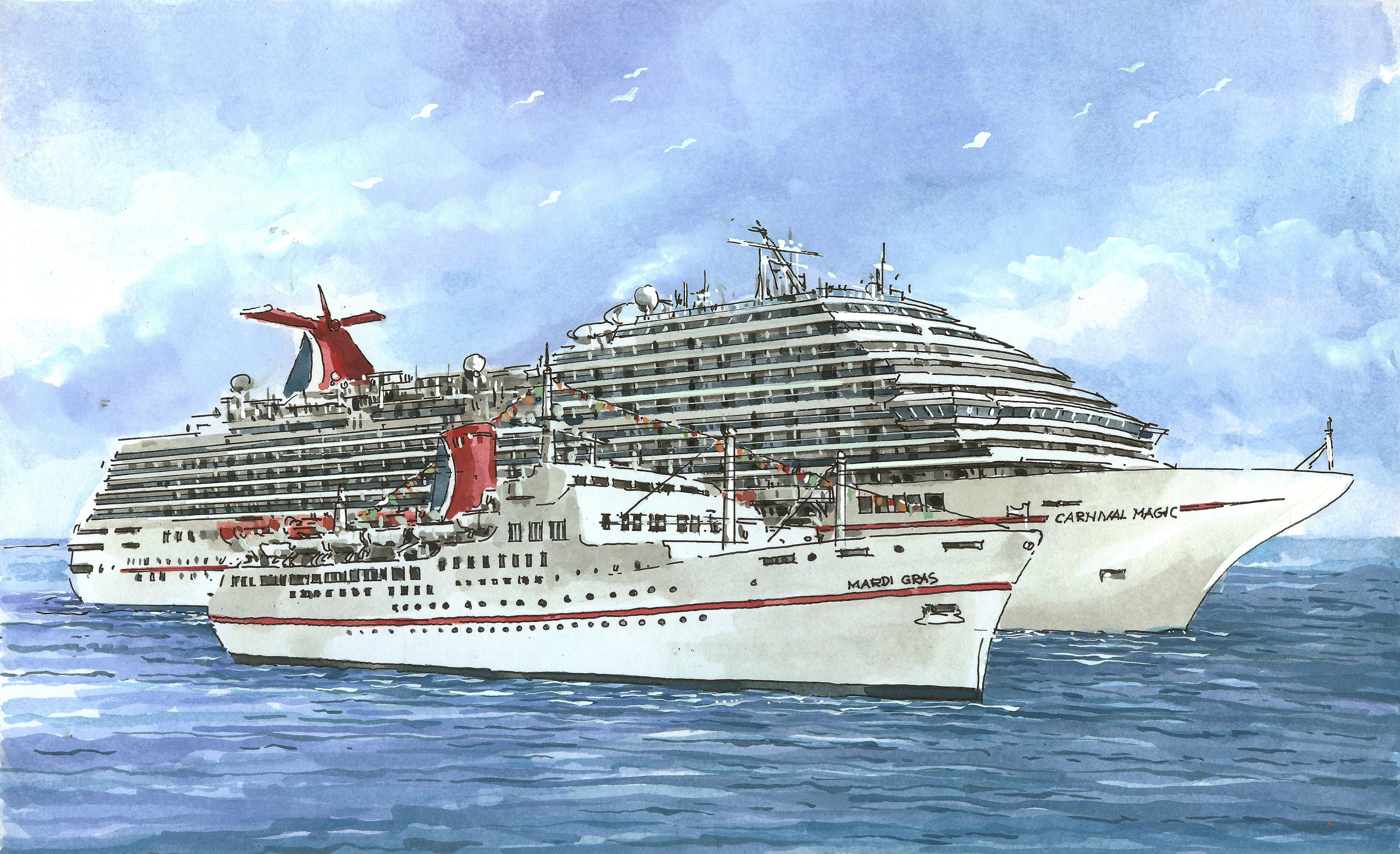 Carnival Cruise Ship Mardi Gras Fitbudha Com