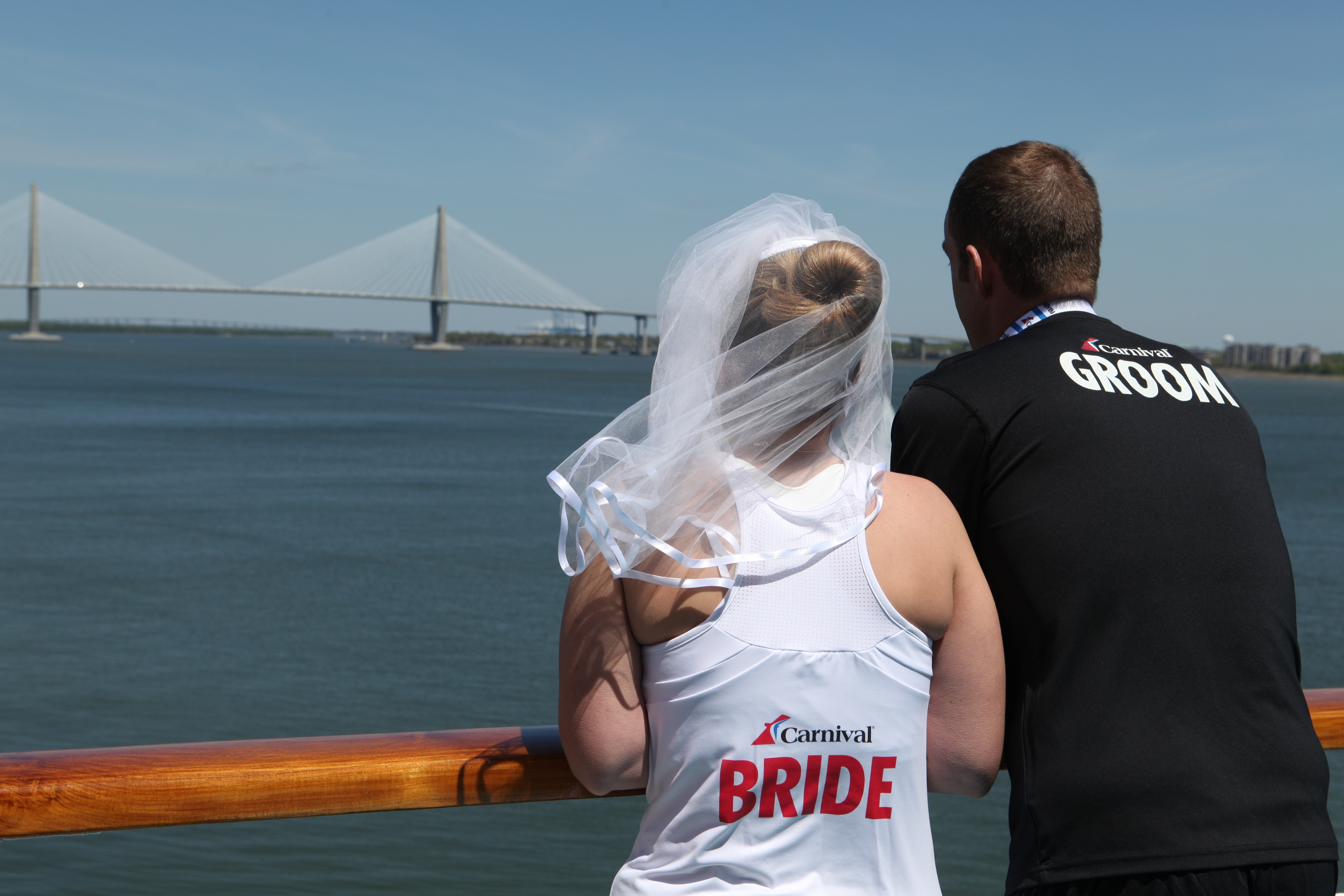 Carnival Cruise Lines Hosts First-Ever Wedding at ...