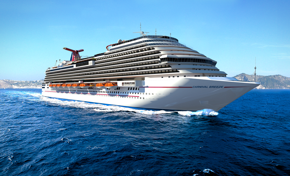 Carnival cruise line news for Best round the world cruise