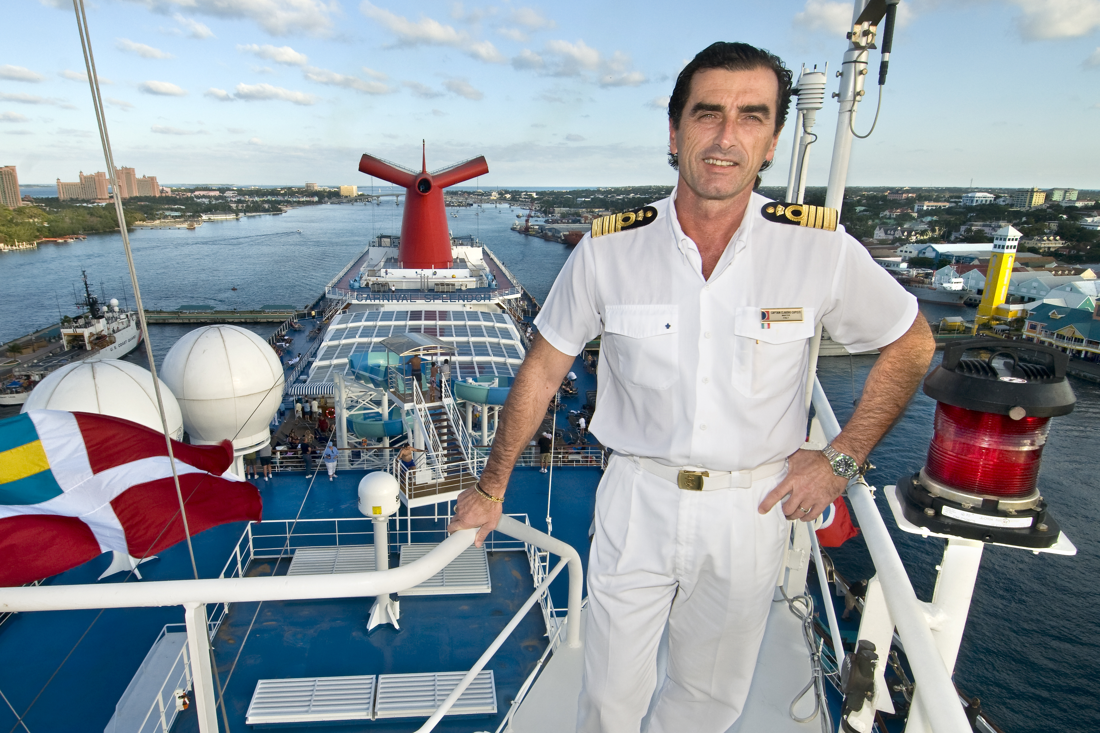 Carnival Cruise Line News - How to be a cruise ship captain