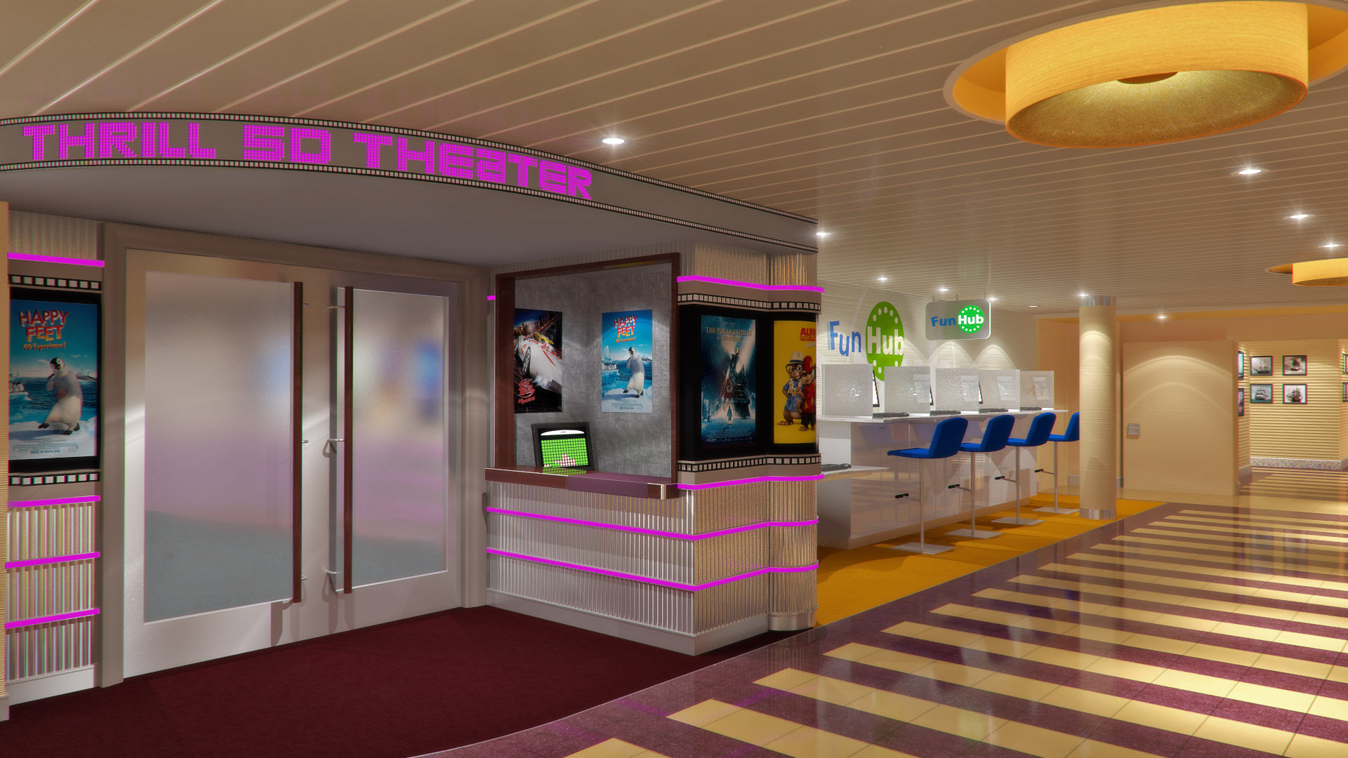 Carnival Kicks Off Facebook Contest Tied To New Thrill 5D Theater Debuting On Breeze