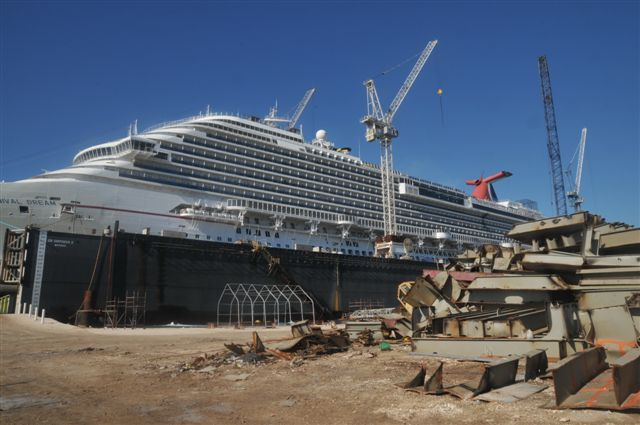 Cruise Ship Refurbishment Schedule Dry Dock News