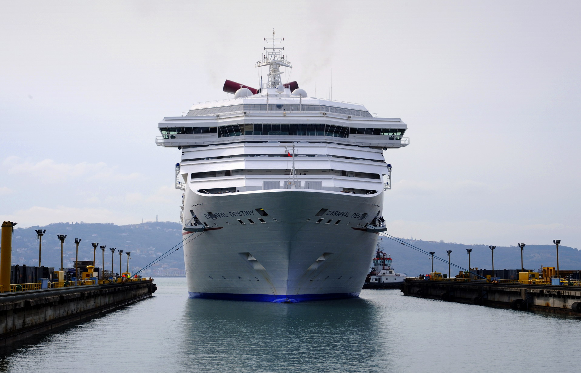 And So It Begins!  New Video, Photos Offer Behind-the-Scenes Look at Carnival Sunshine Refit Taking Place at Fincantieri Shipyard