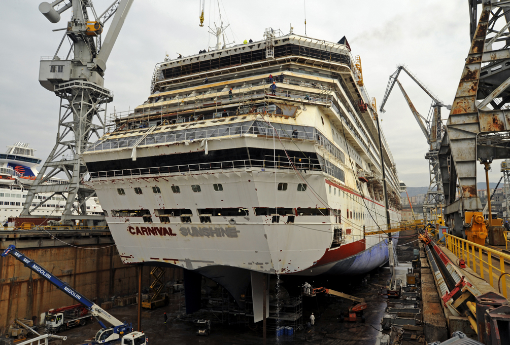 Carnival cruise line news for Sunshine construction