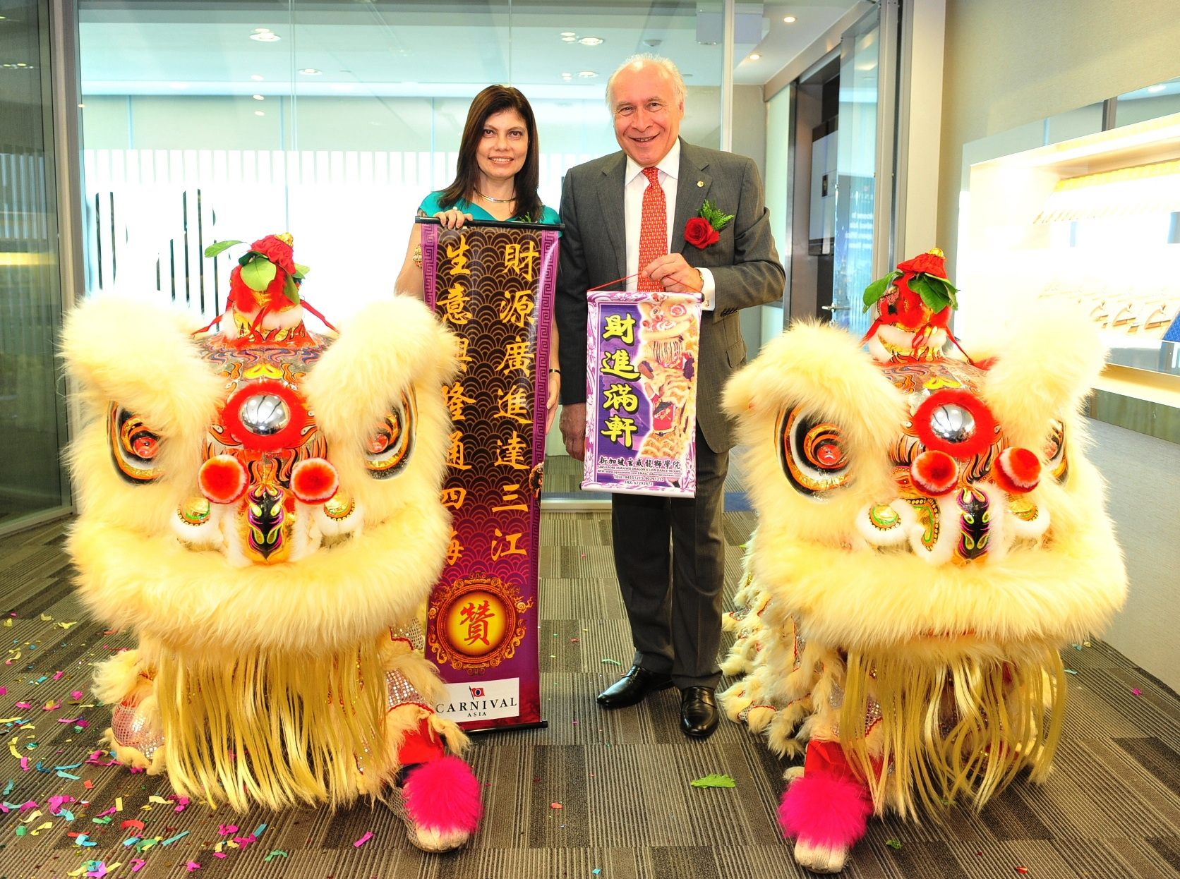 Carnival Corporation & plc Officially Opens New Asia Regional Office in Singapore