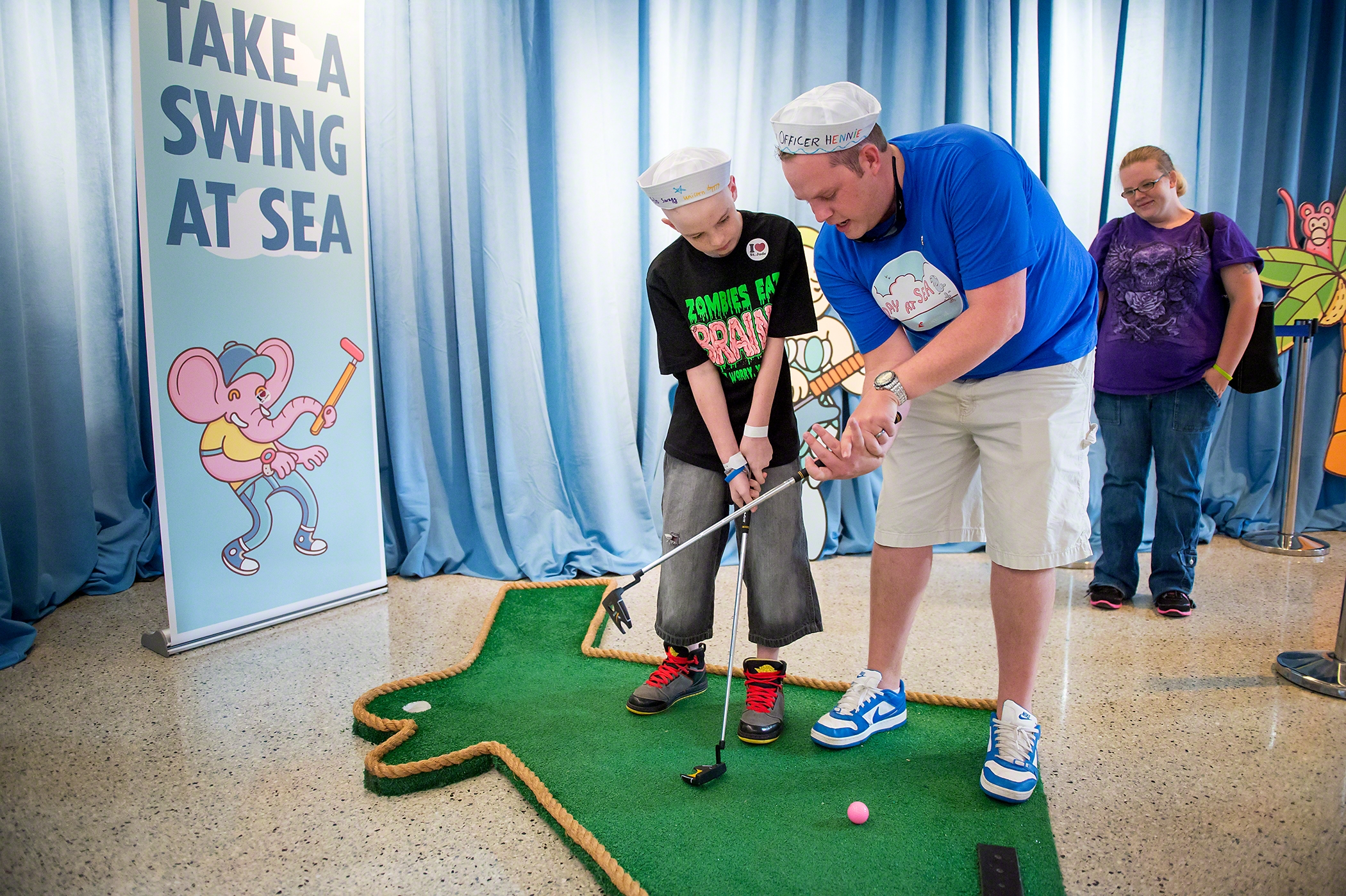 Carnival Cruise Lines Hosts Inaugural 'Day of Play' At St. Jude Children's Research Hospital®
