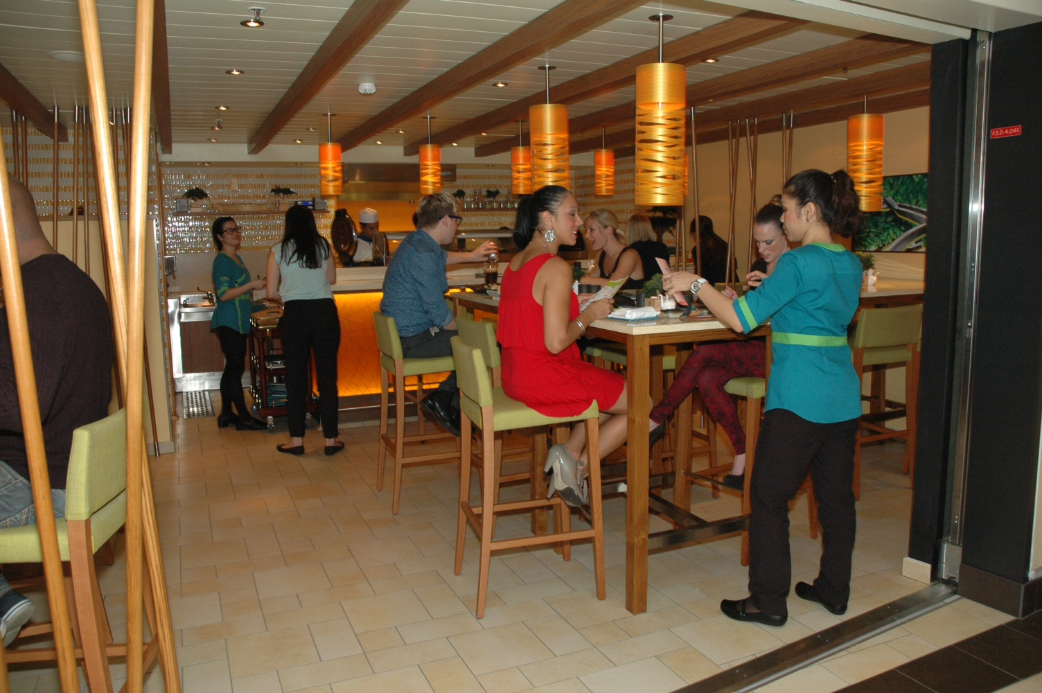 Asian Delicacies Abound at Bonsai Sushi Aboard Totally Transformed Carnival Sunshine