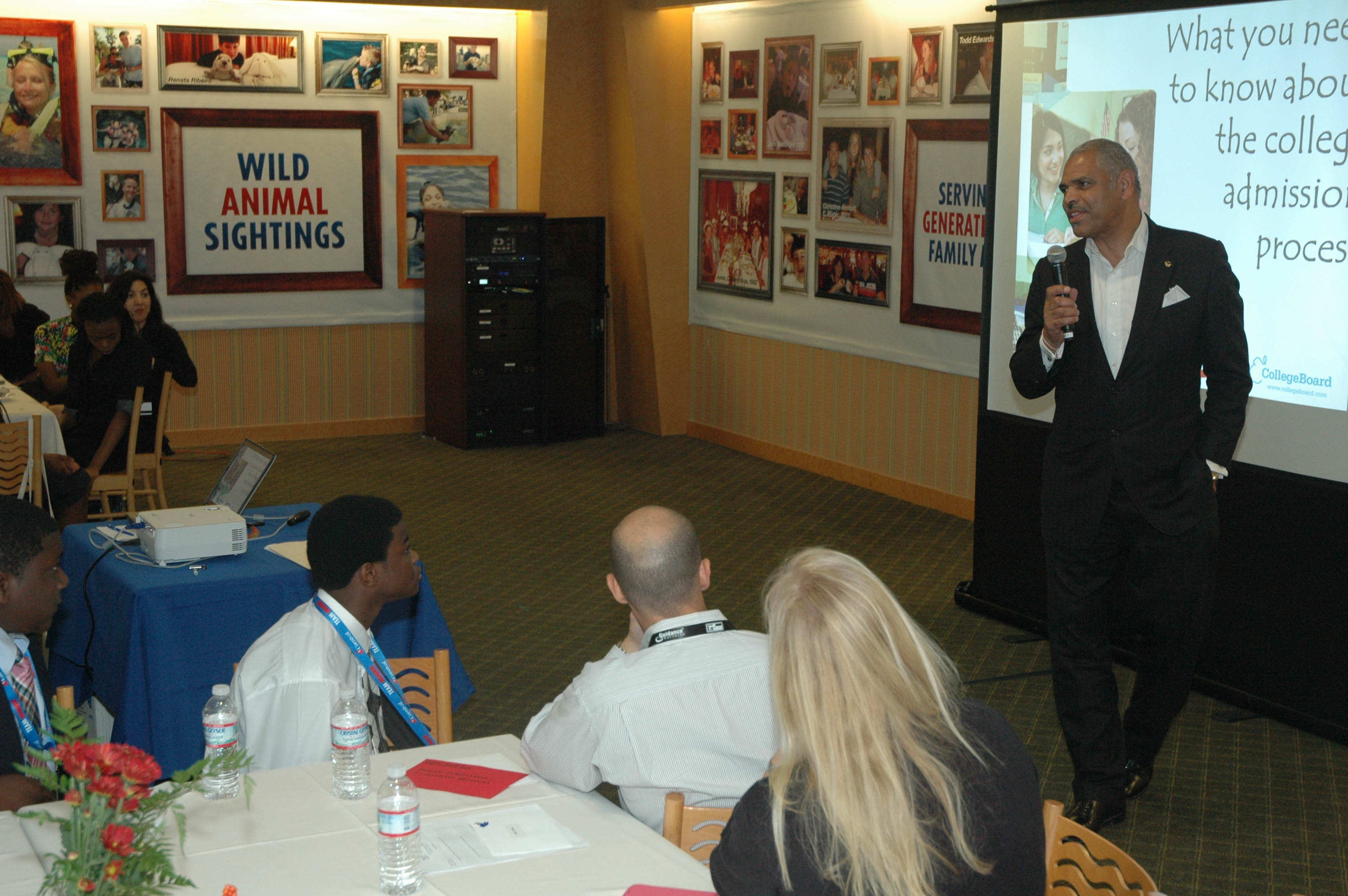 Carnival Corporation & plc President and CEO Addresses Students  from Carnival's Scholarship & Mentoring Program