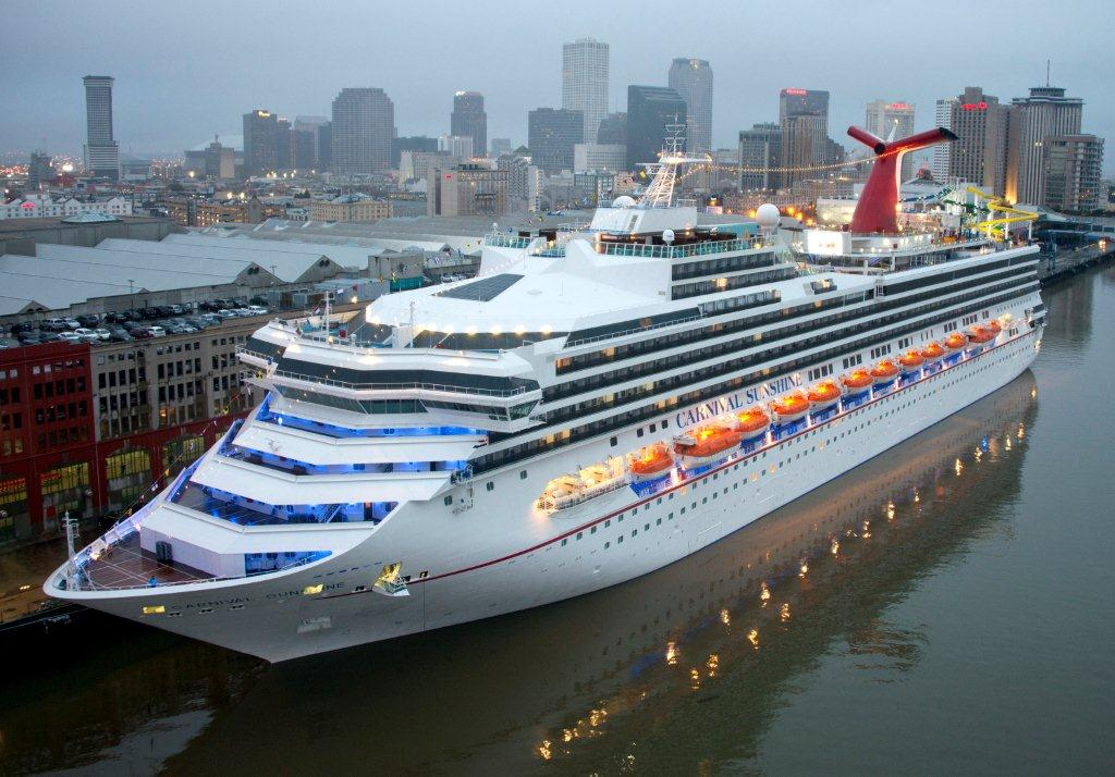 Carnival Sunshine Sails On Inaugural Voyage From New Orleans Today; Six-Day Cruise Kicks Off Winter Schedule From Big Easy