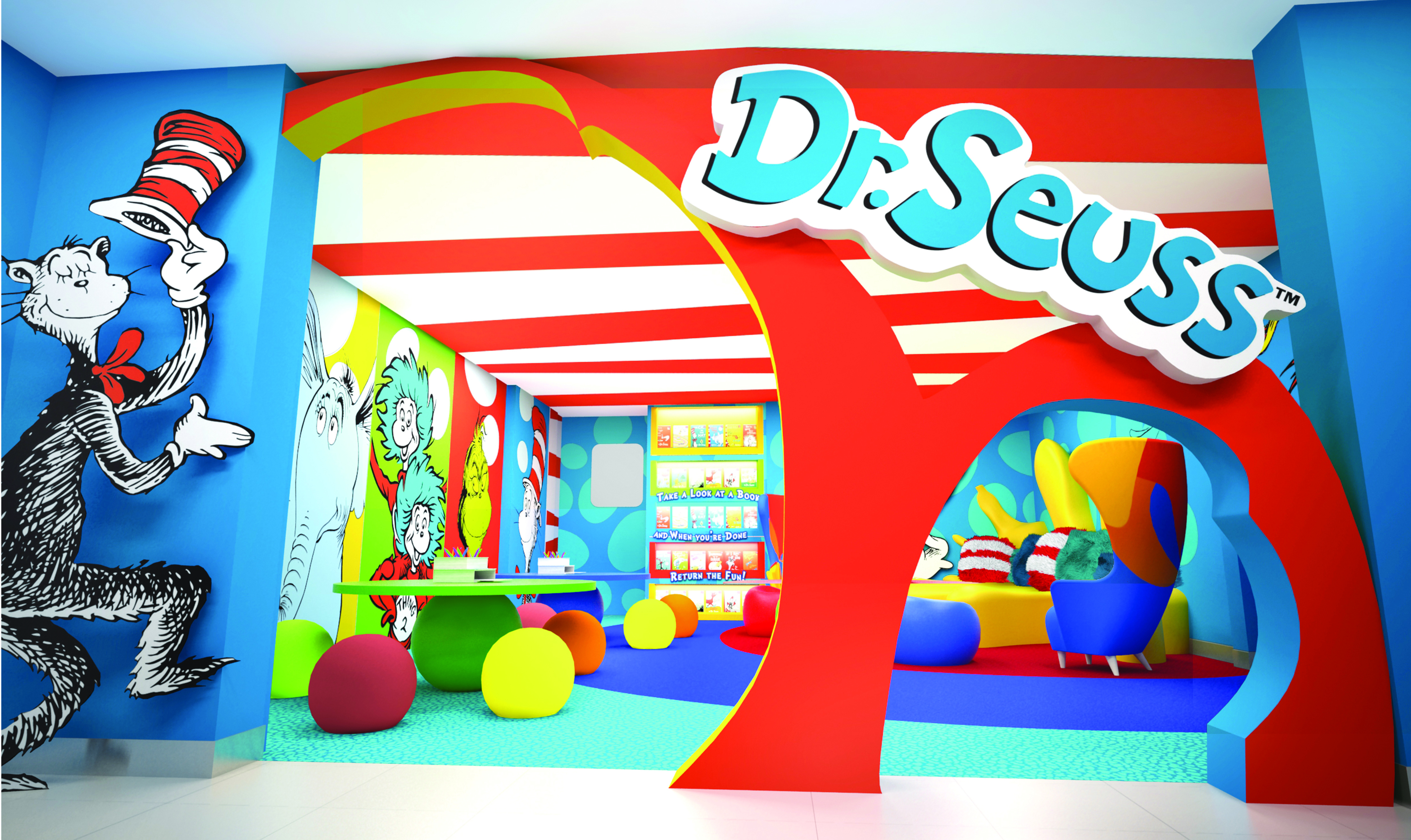 Carnival Cruise Lines Partners With Dr. Seuss Enterprises To Bring 'Seuss At Sea' To Kids And Families On 'Fun Ships'