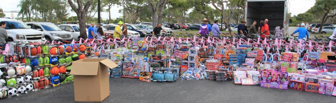 Carnival's Global Contact Center Makes the Holidays Brighter, Donates Thousands Of Toys and Bikes For Toys For Tots Program