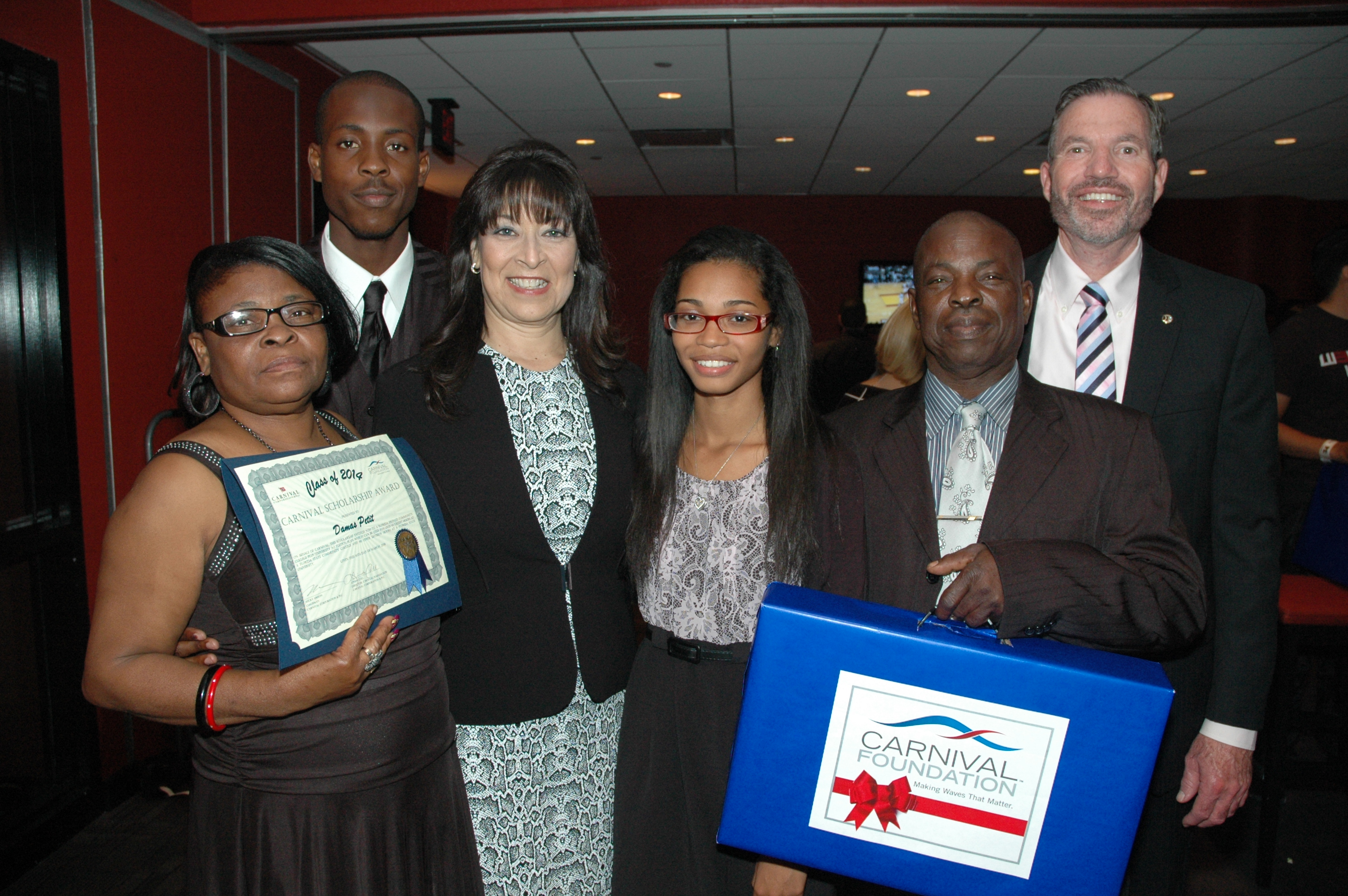 Carnival Foundation Awards Four-Year College Scholarships  to 16 South Florida High School Students