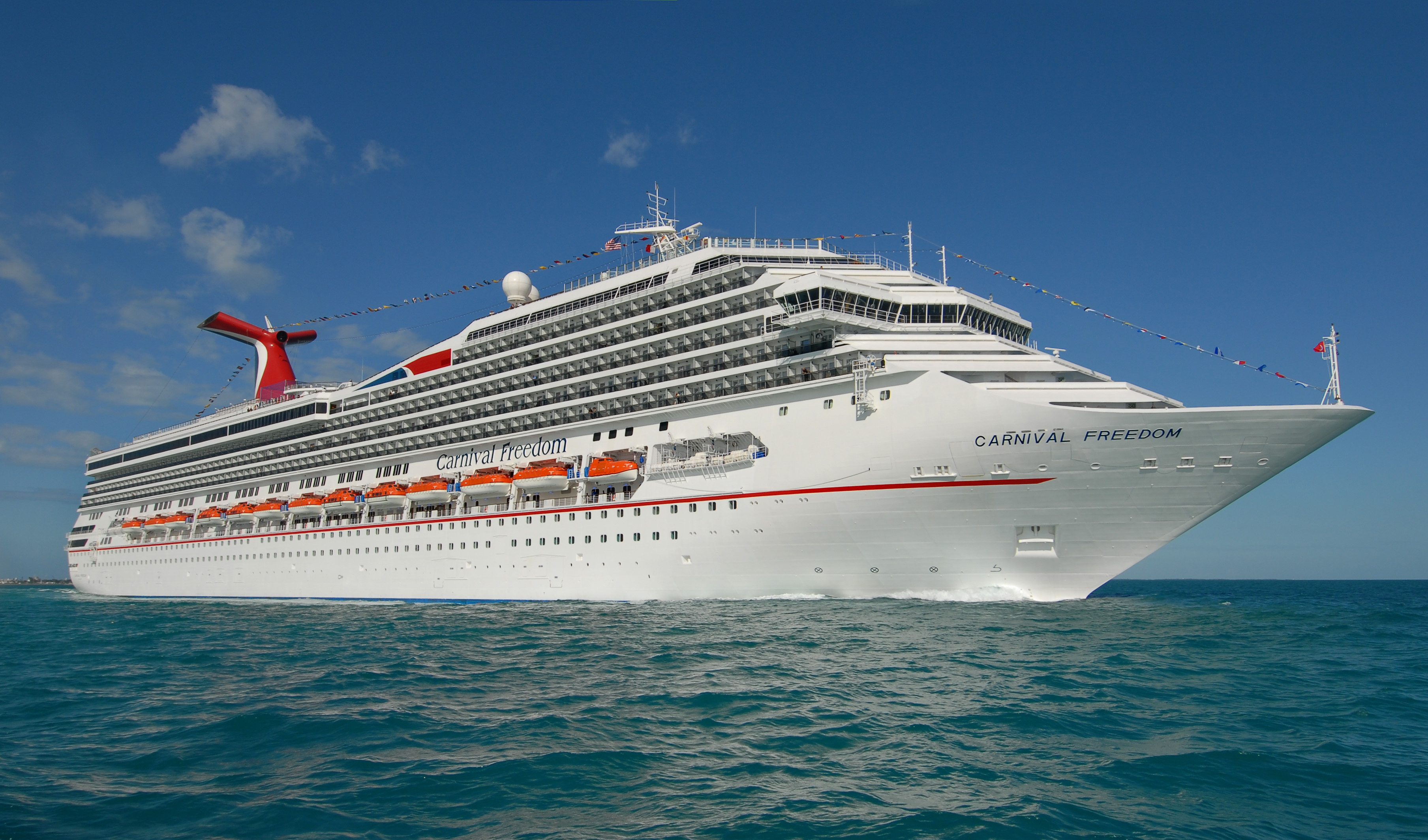 Carnival Cruises Expands Texas Fleet With Carnival Freedom  Cruise 1st Austr