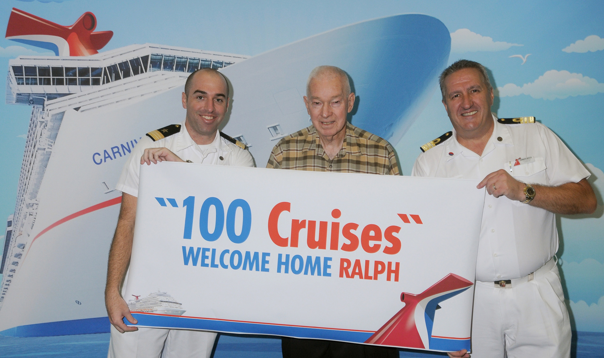 Longtime Cruiser Sails On 100th 'Fun Ship' Voyage On Carnival Dream
