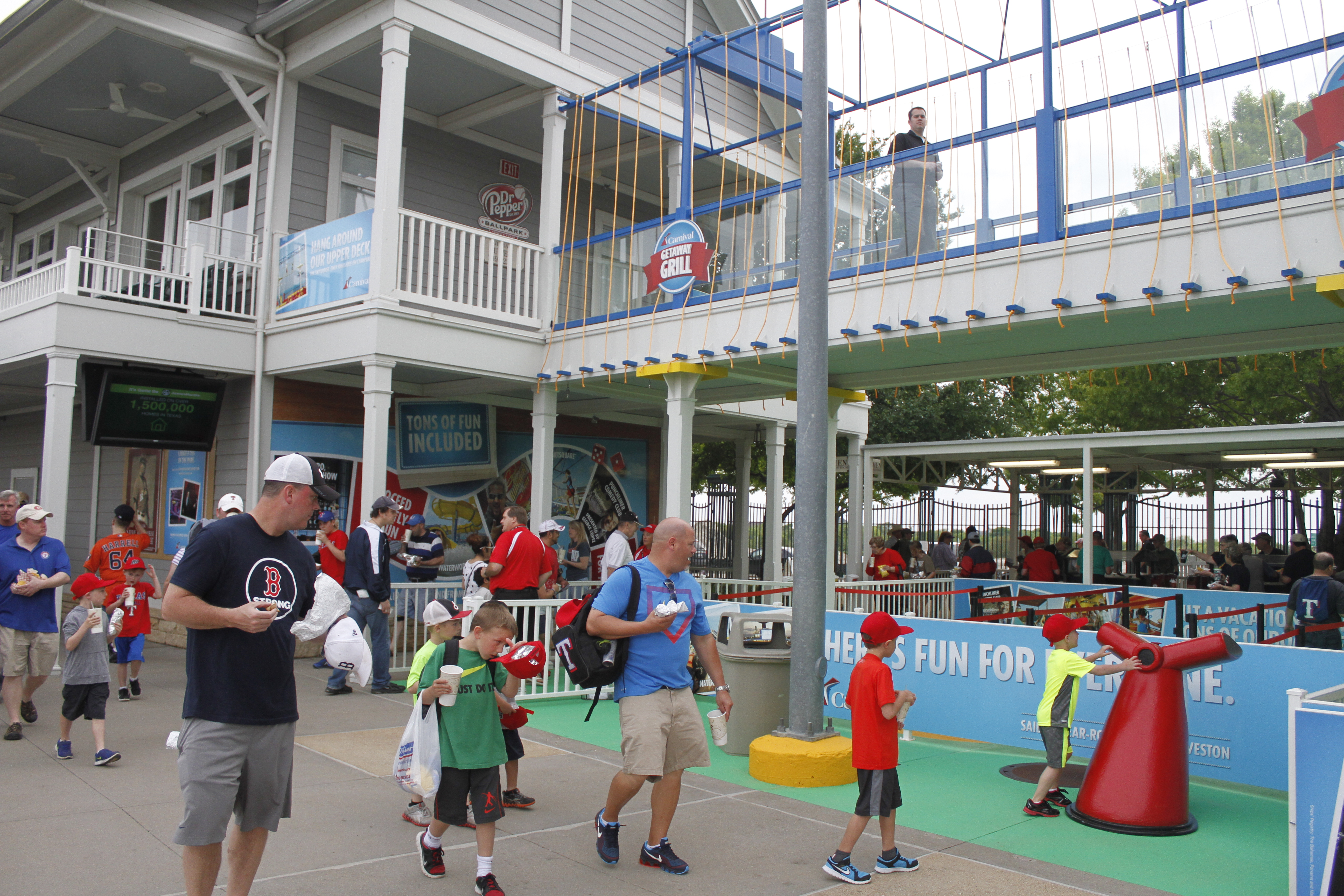Cruise Ship Horn-Themed Home Run Celebration Among New Features at  RoughRiders Ballpark, Part of Carnival's Sponsorship of Double A Baseball Franchise