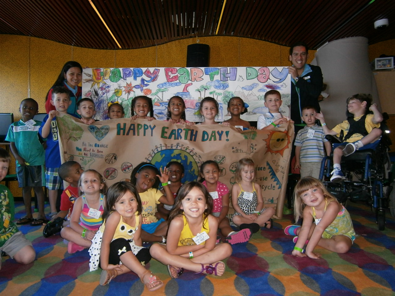 Earth Day Celebrated Aboard The 'Fun Ships'