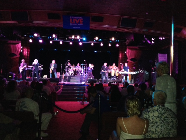 Chicago Keeps Guests Rockin' on Carnival Paradise, Carnival Ecstasy