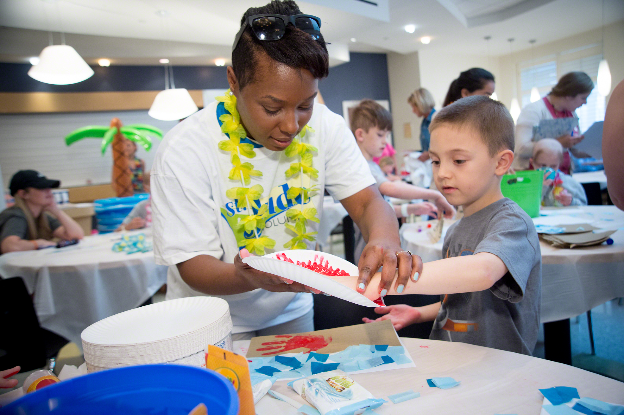 A Night of Carnival-Inspired Fun At St. Jude Children's Research Hospital's Target House