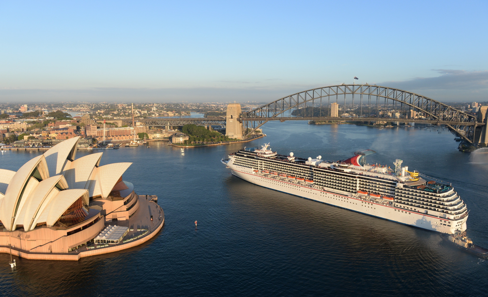 Carnival Legend Arrives in Sydney to Operate Seasonal Cruise Program from Down Under