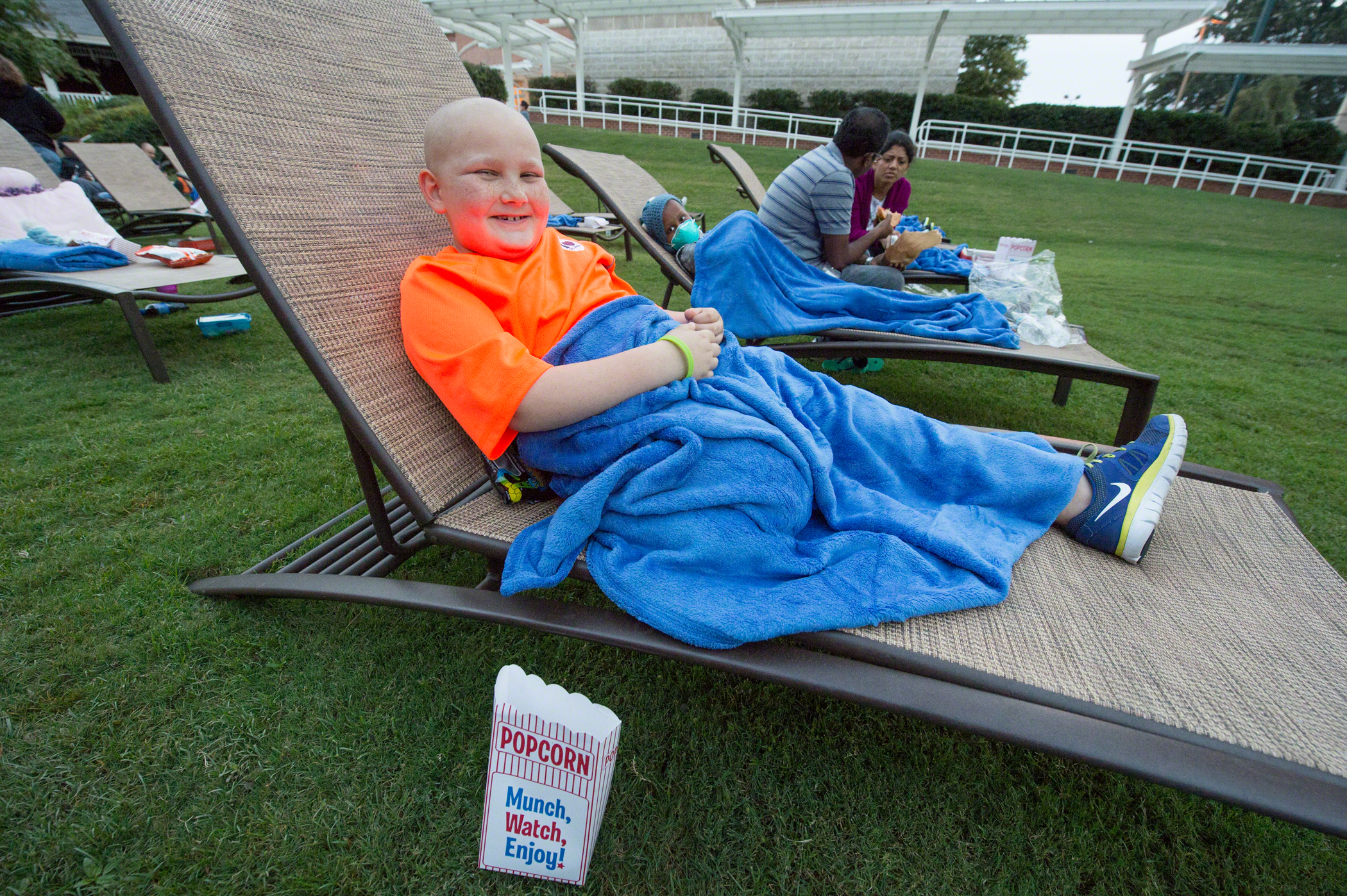 Kids of St. Jude Children's Research Hospital Enjoy Night of Fun with Dive-In Movies Presented by Carnival Cruise Lines