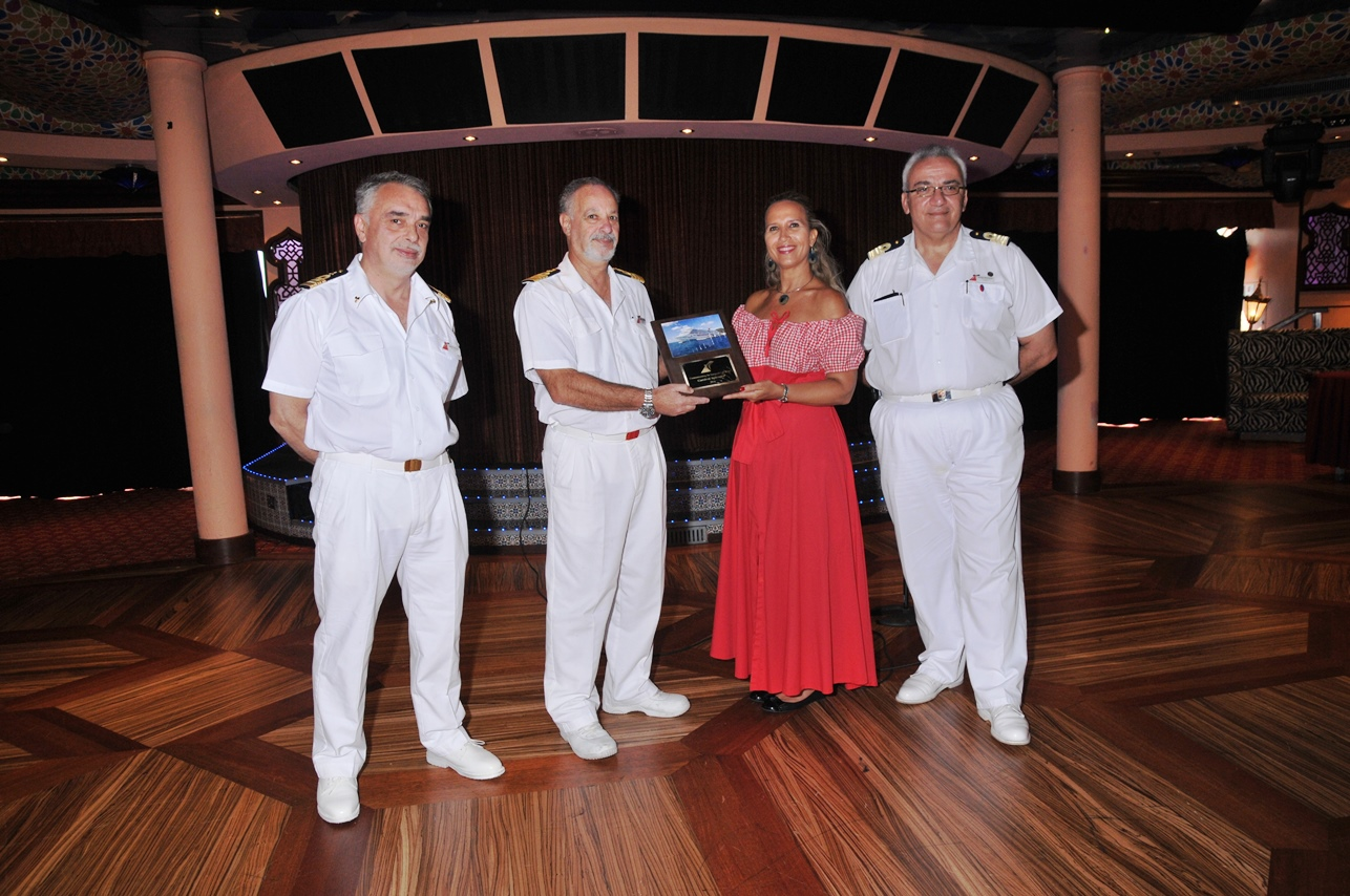 Shipboard Festivities Mark Carnival Splendor's Inaugural Call In Martinique