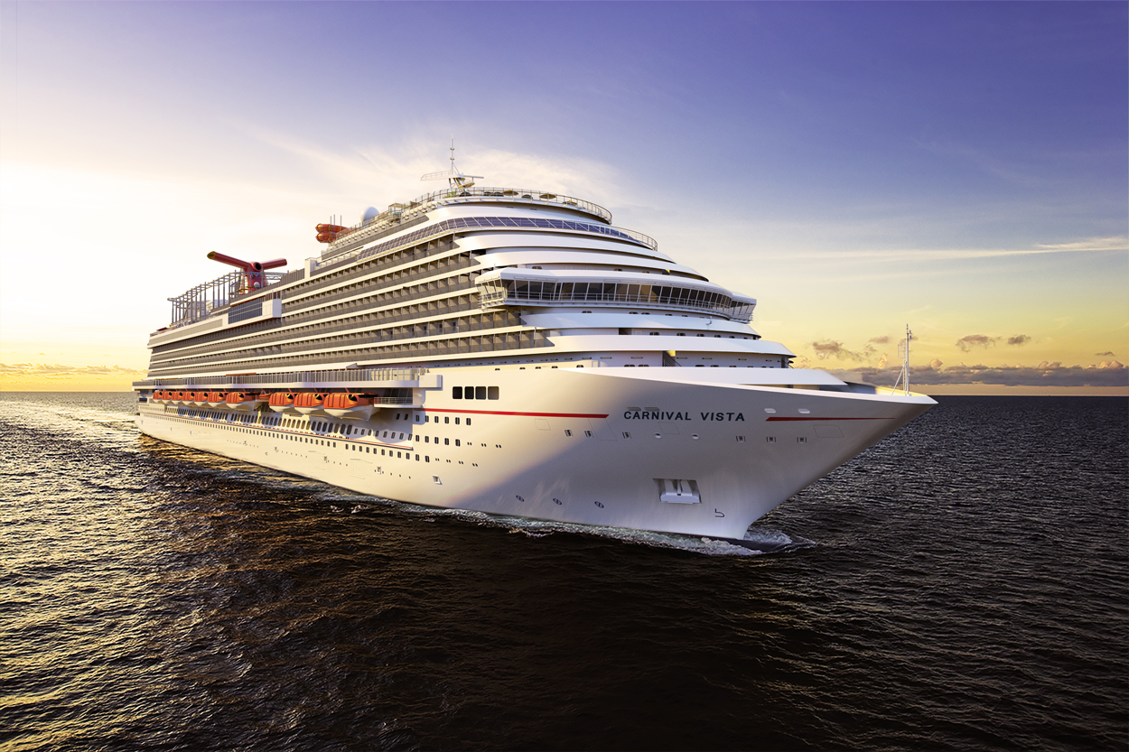 New Carnival Vista Designed  As The Ultimate Family Vacation