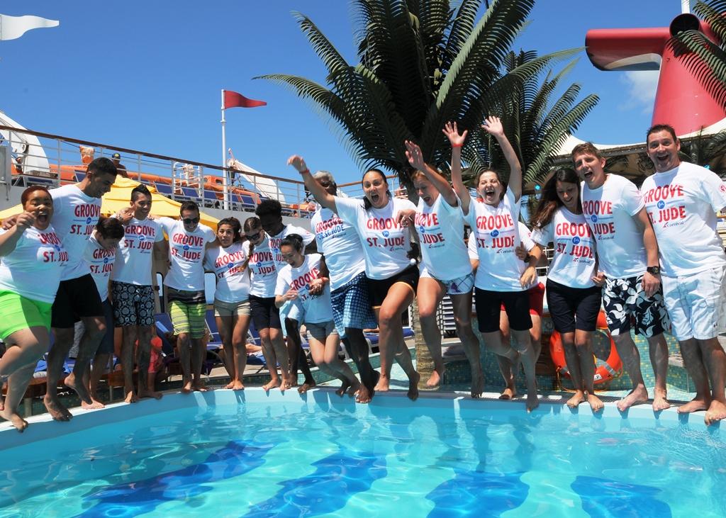 """Carnival's """"Slide for St. Jude"""" raises $50,000 for St. Jude Children's Research Hospital"""