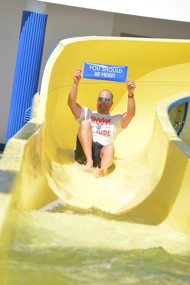 "Carnival's ""Slide for St. Jude"" raises $50,000 for St. Jude Children's Research Hospital"