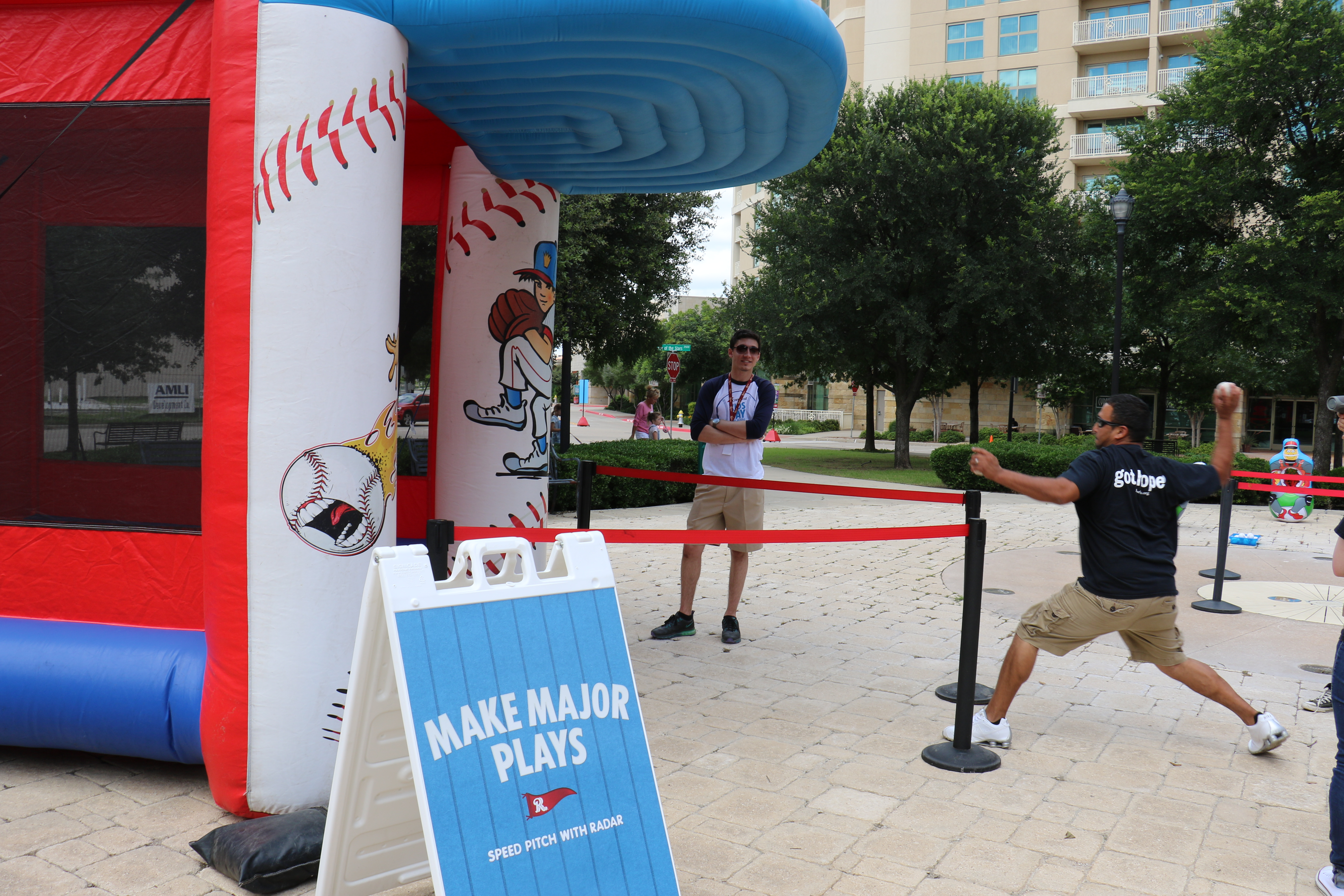 Frisco RoughRiders And Carnival Cruise Line Host 'Kids Day' Event For Local Youth