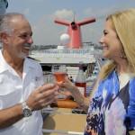 Kathie Lee Gifford celebrates the release of her new wine aboard Carnival Splendor in New York