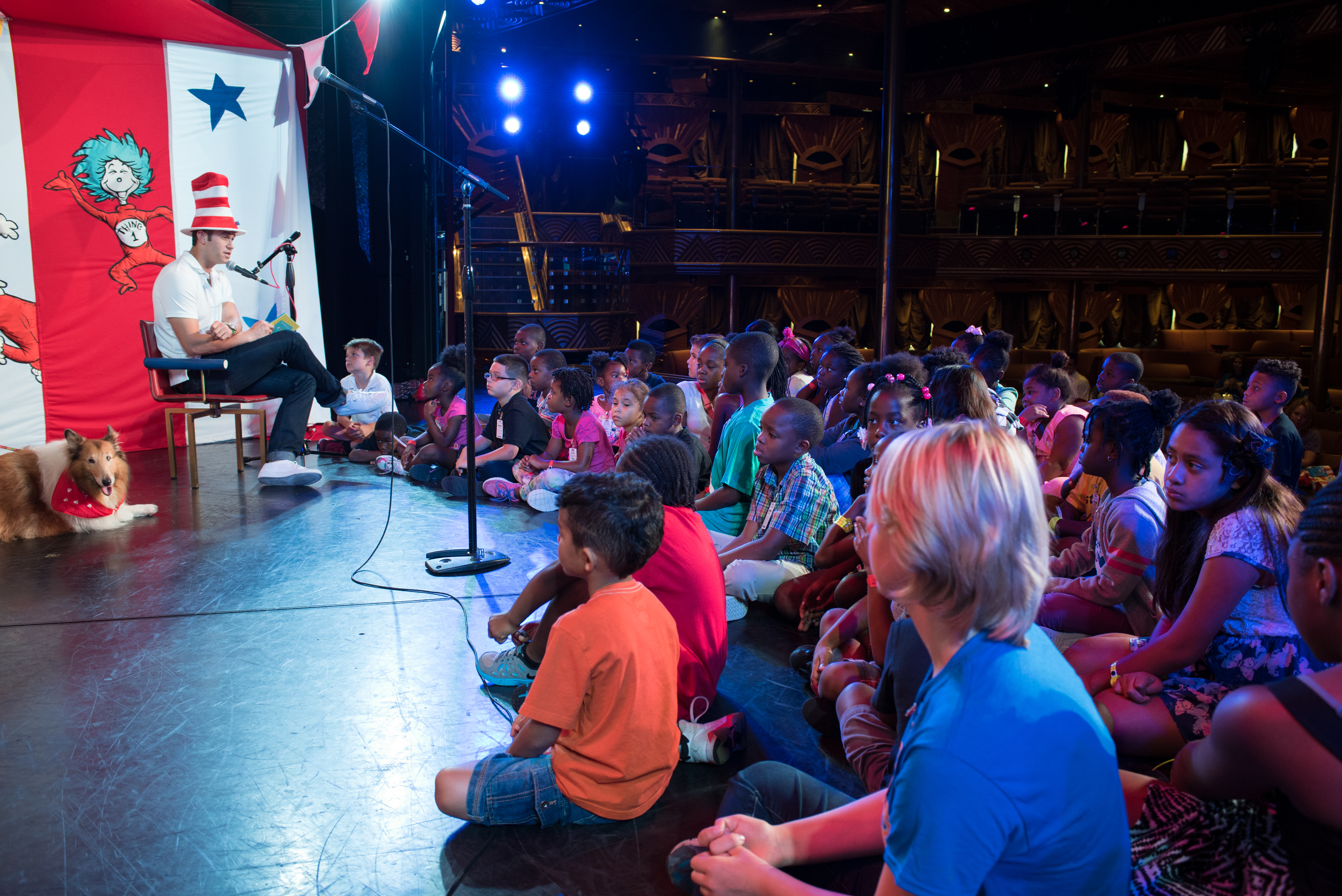 Carnival Teams Up With Dr. Seuss Enterprises To Host Celebrity Book-Reading Events For New Dr. Seuss Book 'What Pet Should I Get?' Aboard Ships In Tampa and New Orleans