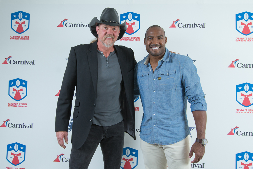 Carnival Cruise Line Hosts 'Ultimate Cowboys Fan Fest' with Free Concert by Country Music Superstar Trace Adkins, Appearance by Dallas Cowboys Legend Darren Woodson