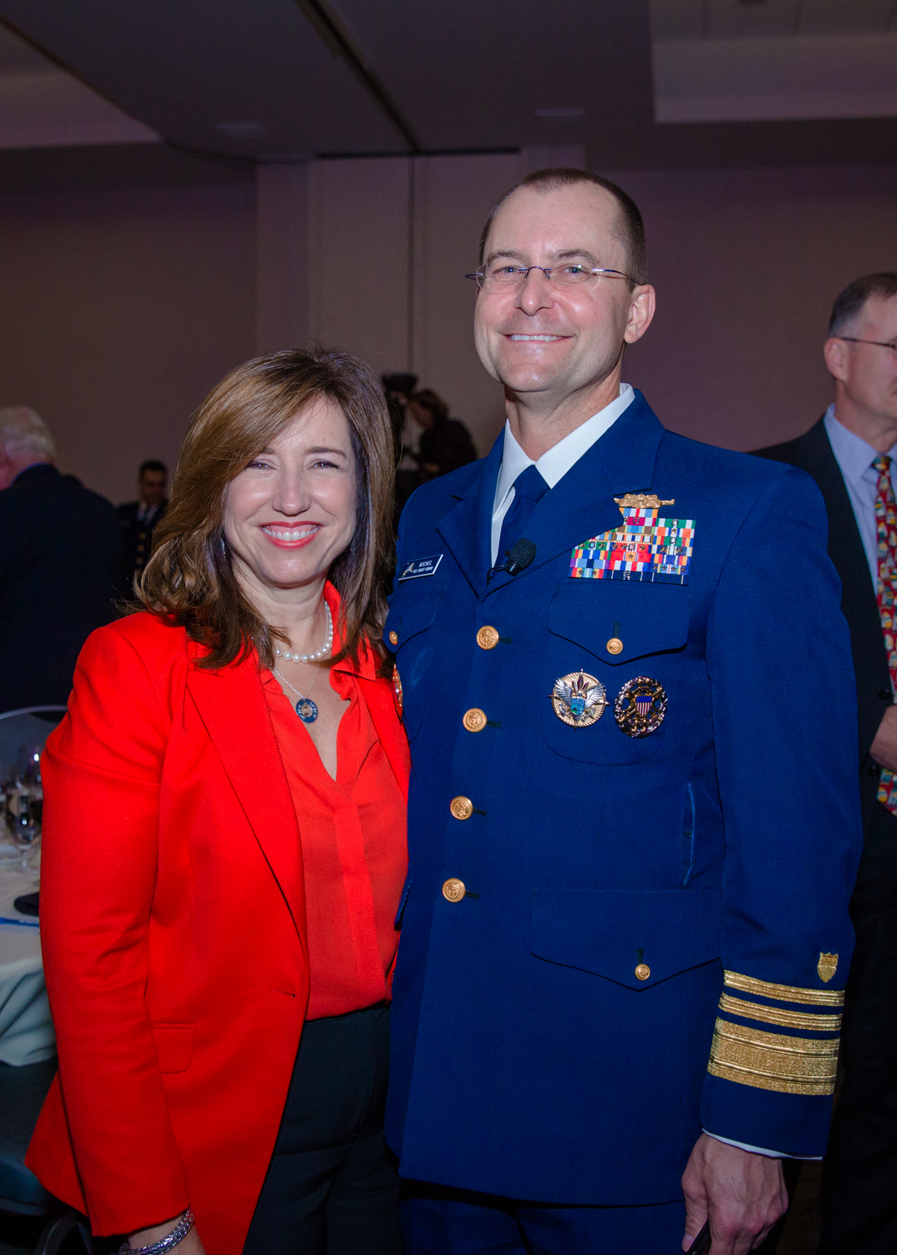 Carnival President Christine Duffy Recognized at United States Coast Guard Reception