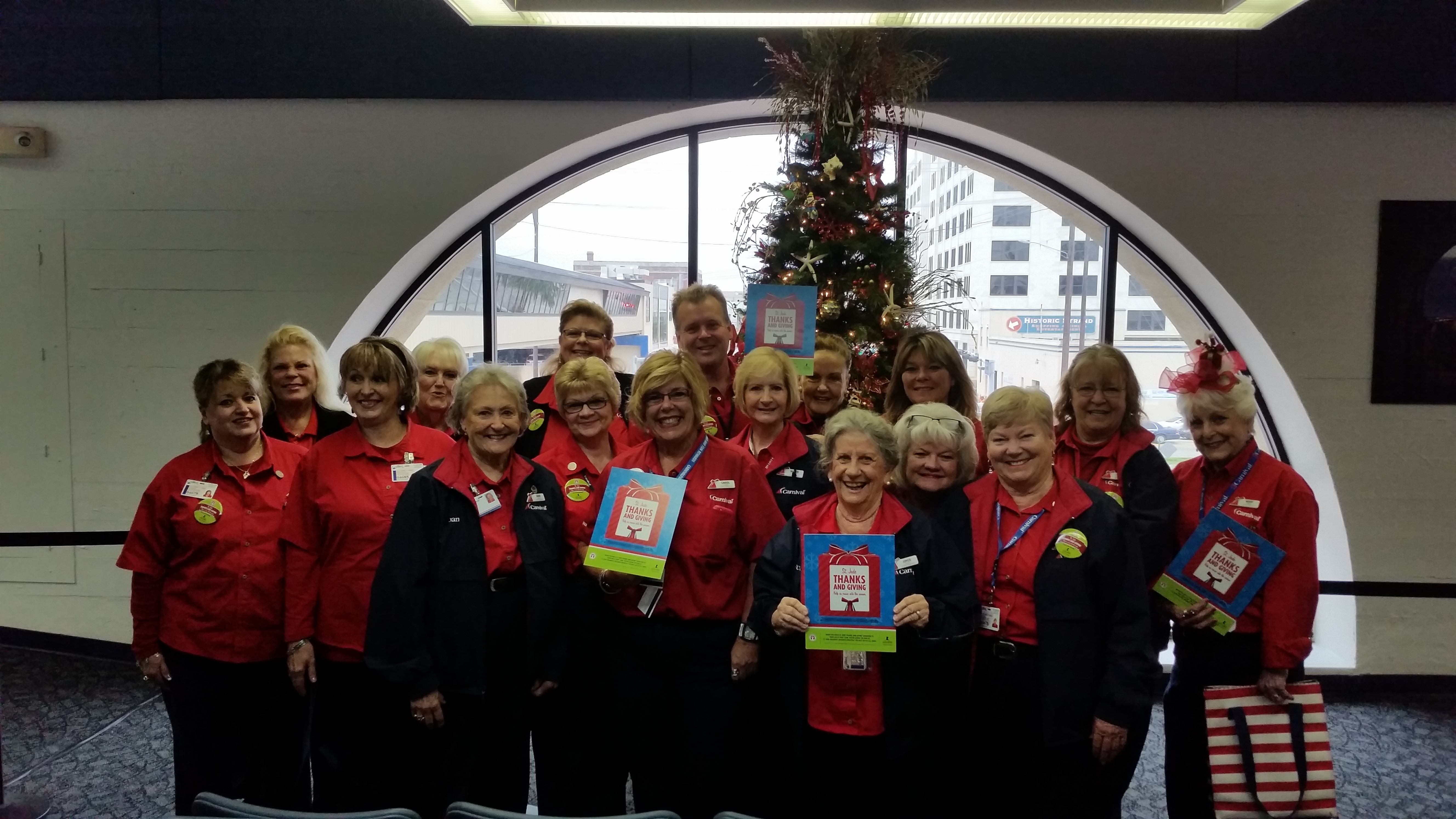 Carnival Cruise Line Kicks Off the St. Jude Thanks and Giving® Campaign