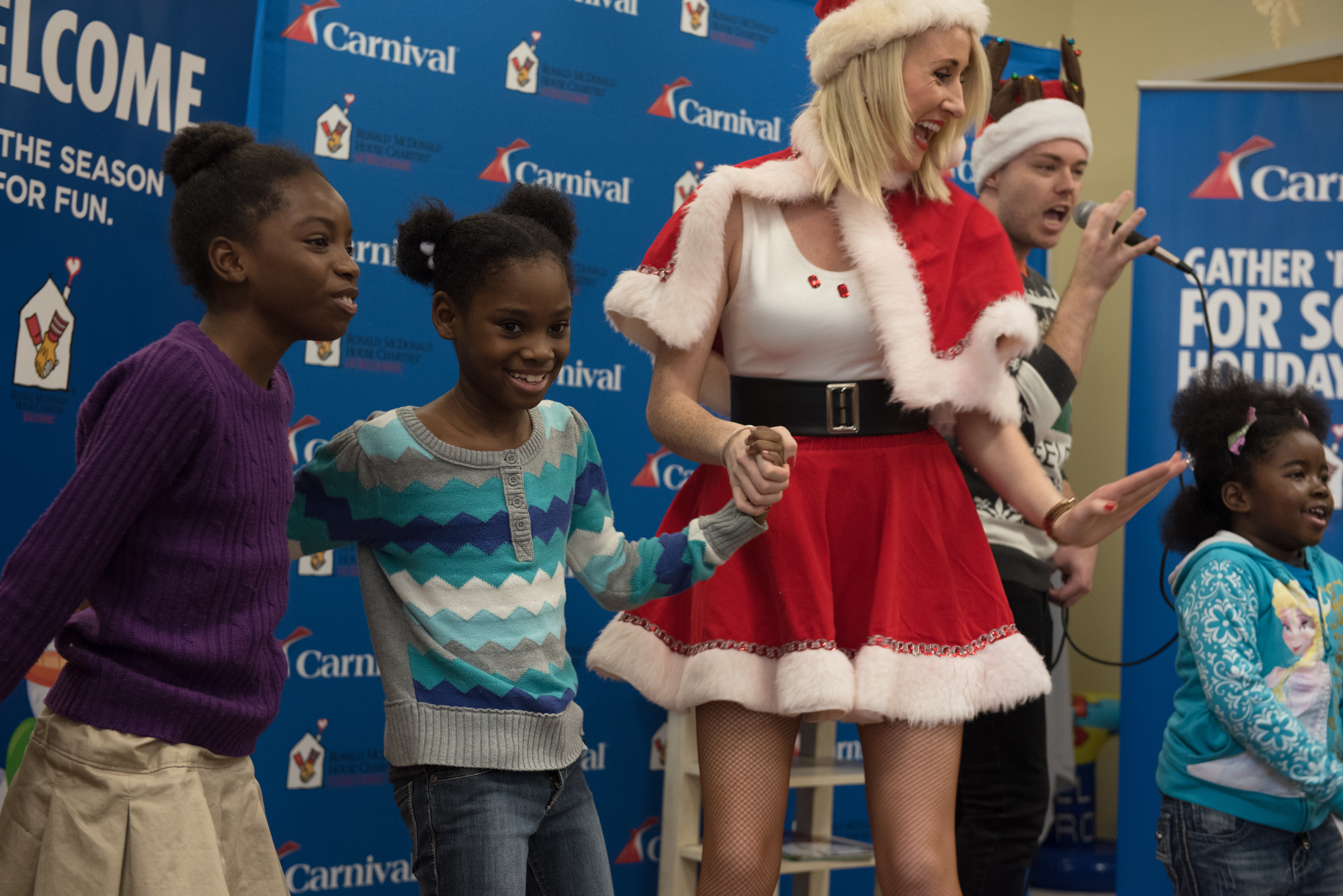 Carnival's 'Merry Grinchmas' Celebrations Bring Holiday Cheer To Kids At Medical University Of South Carolina Children's Hospital In Charleston And Baltimore's Ronald McDonald House