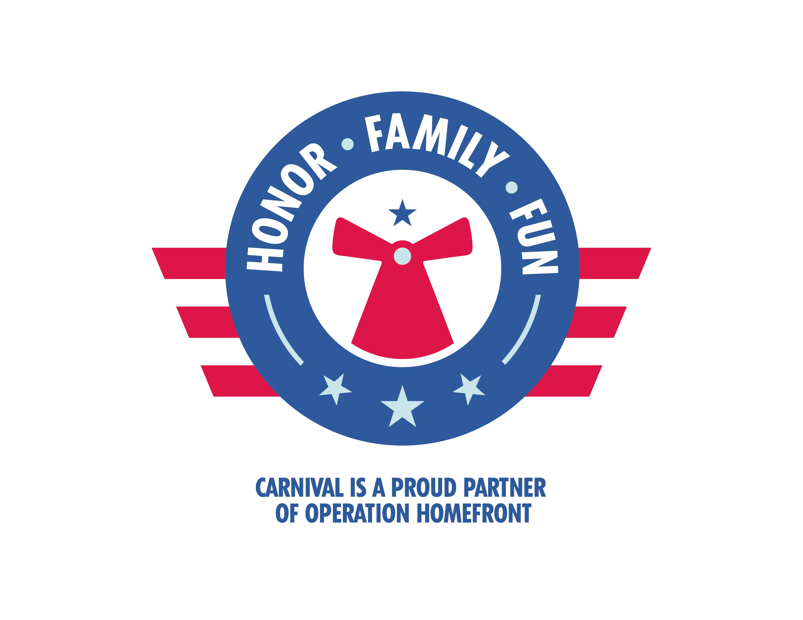 Carnival Cruise Line, Operation Homefront, And Seven-Time Grammy Award-Winning Superstar Carrie Underwood Launch Honor. Family. Fun. Initiative To Support Military Families
