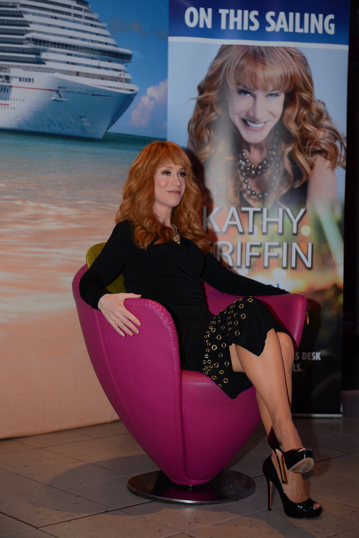 Kathy Griffin Keeps 'Em Laughing Aboard Carnival Breeze
