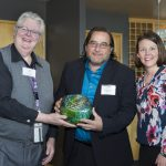 Green Gateway awards presneted to cruise ship lines by the Port of Seattle at the World Trade Center, 14 April 2016.