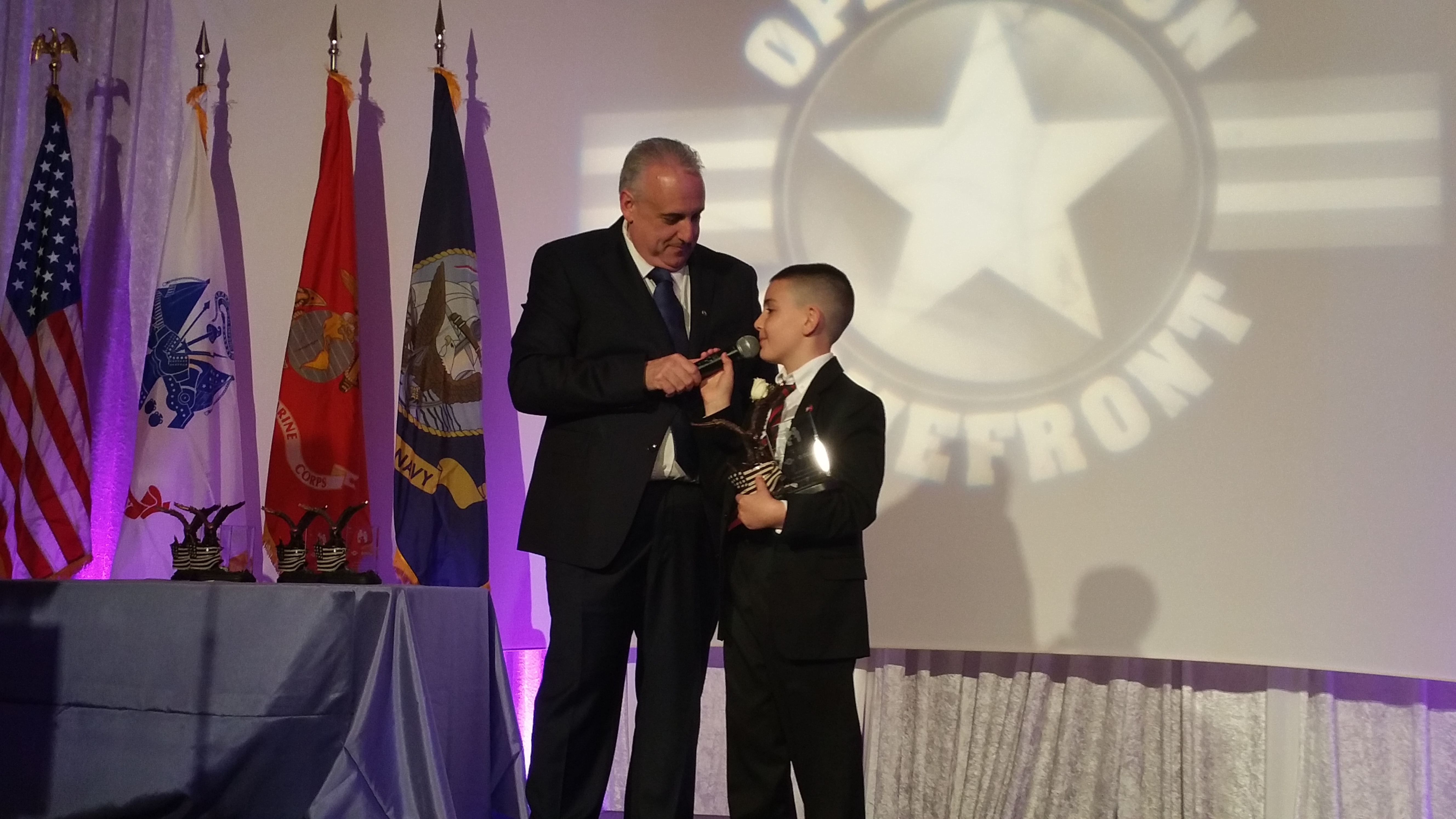 Carnival Brand Ambassador John Heald Entertained Military Families And Supporters At Recent Military Child Of The Year Awards In Washington DC; Honorees Awarded Special Trip To NYC To Attend U.S. Inaugural OF Carnival Vista