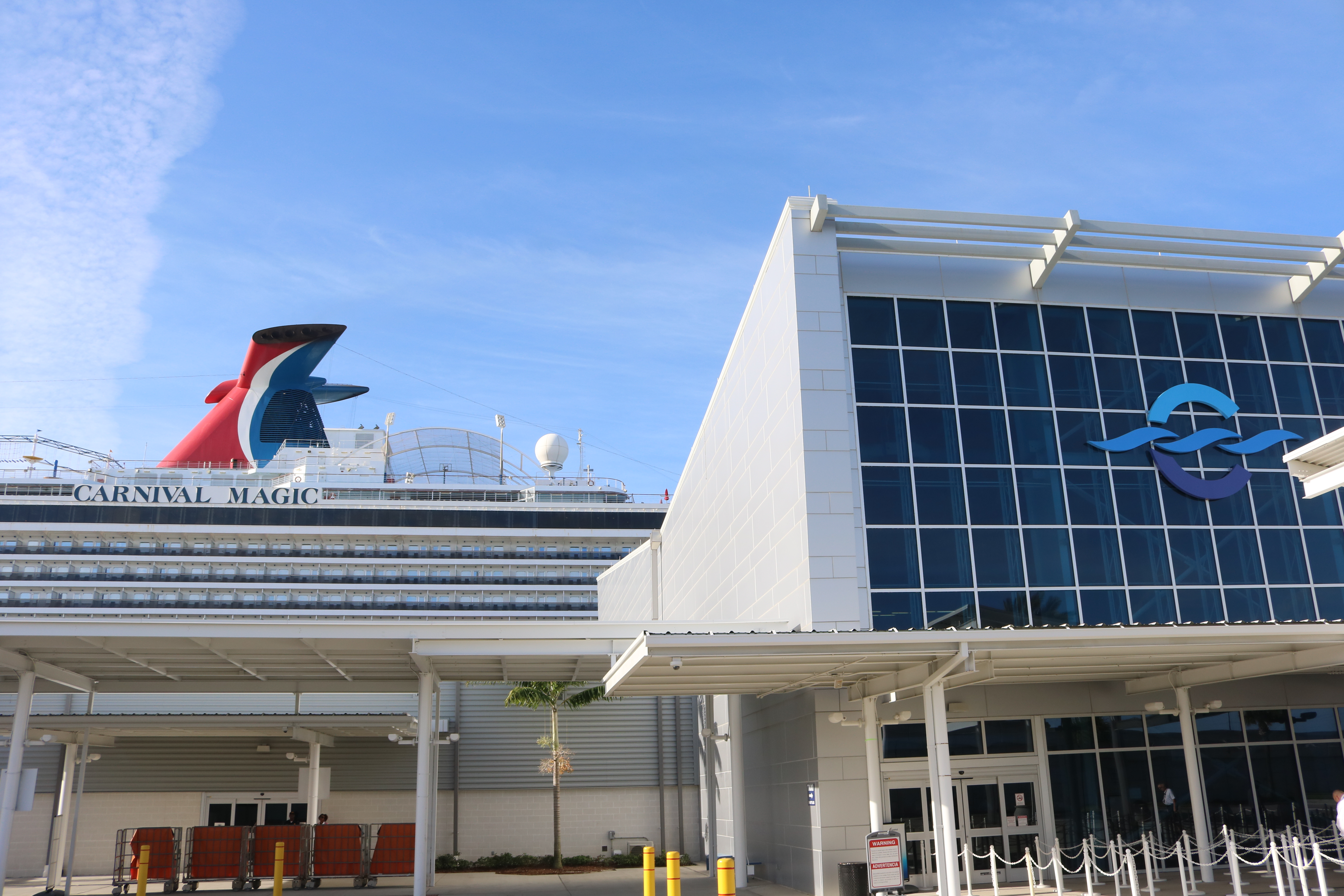 Arrival of Port Canaveral's Newest Cruise Ship, Carnival Magic, Celebrated Today, Along With Official Grand Opening of The Ship's New Guy Fieri-Designed BBQ Restaurant