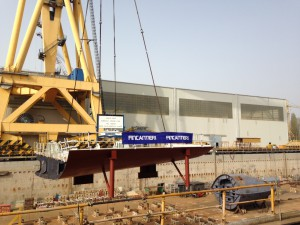 Vista2 Keel Laying2